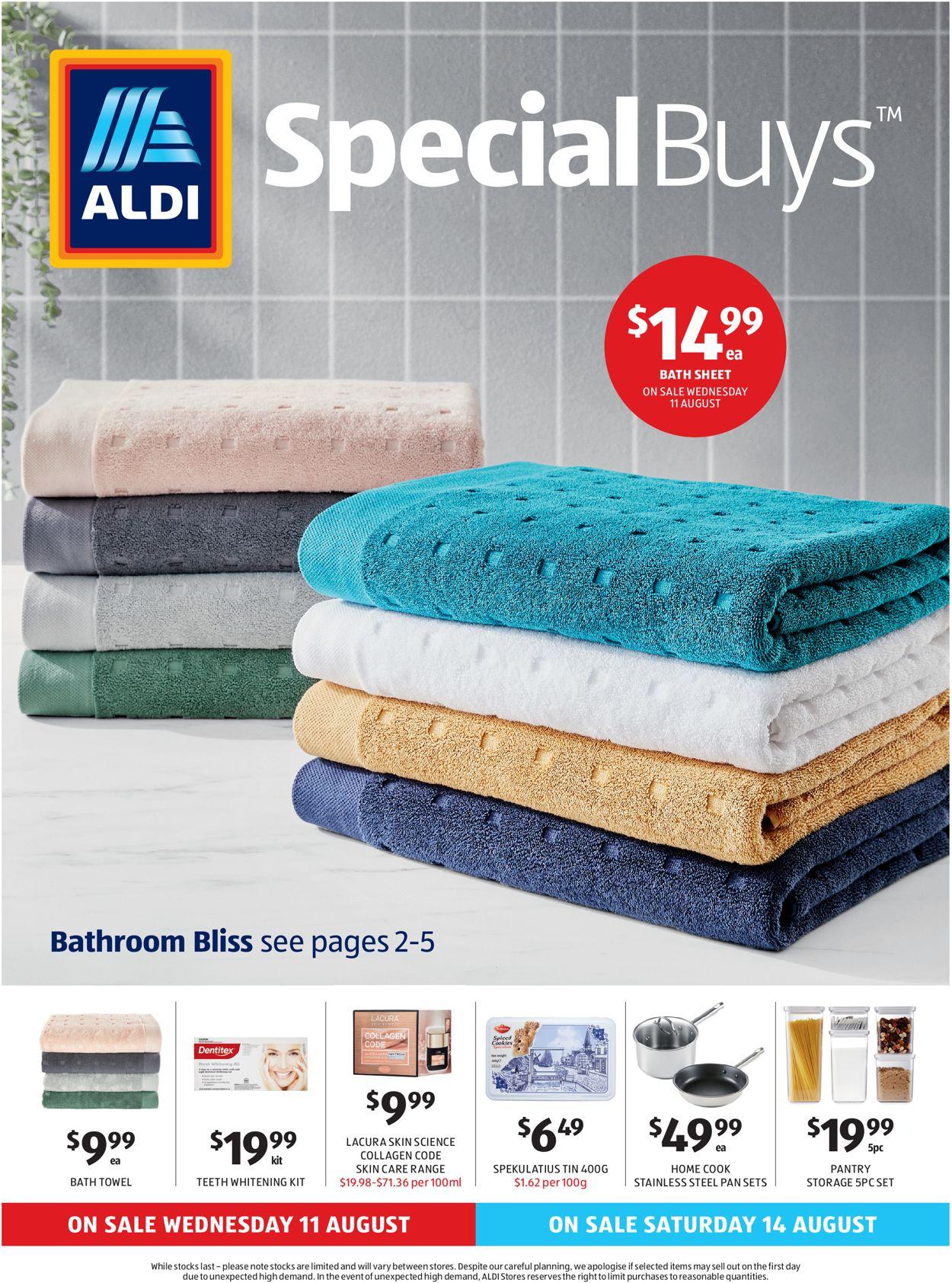 ALDI Catalogue - 11/08-17/08/2021