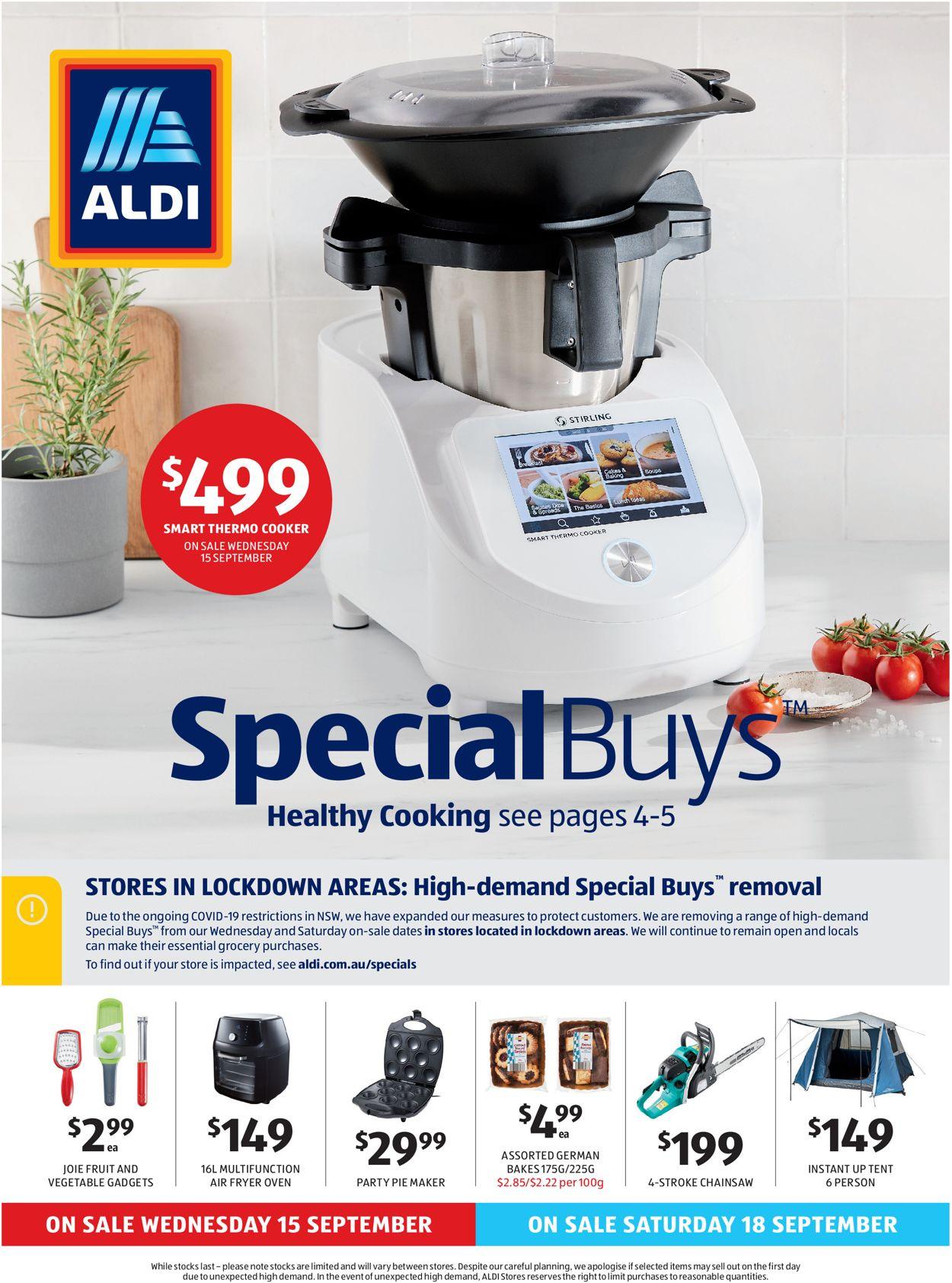 ALDI Catalogue - 15/09-21/09/2021