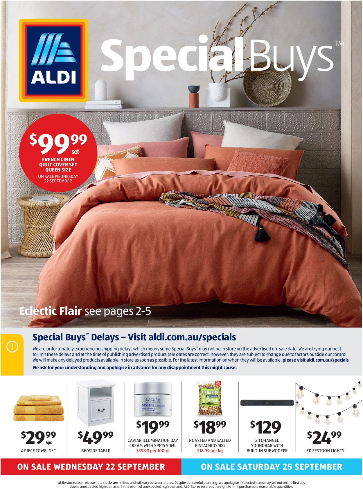 ALDI Catalogue - 22/09-28/09/2021