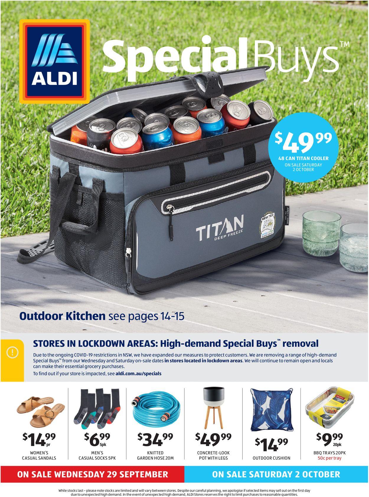 ALDI Catalogue - 29/09-05/10/2021
