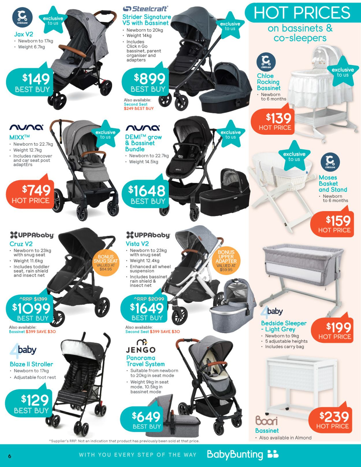 Baby Bunting Catalogue - 05/07-25/07/2021 (Page 6)