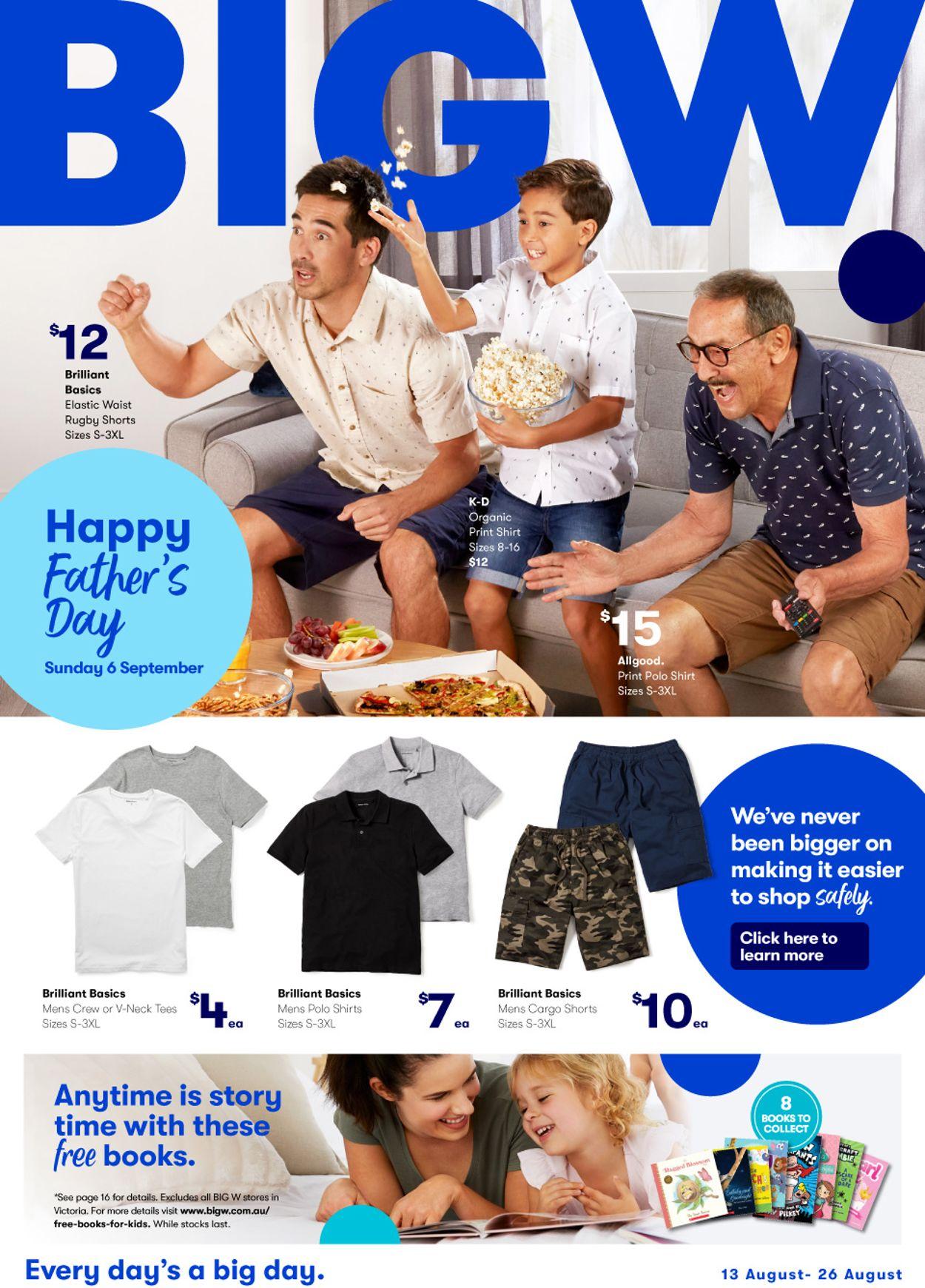 BIG W Catalogue - 13/08-26/08/2020