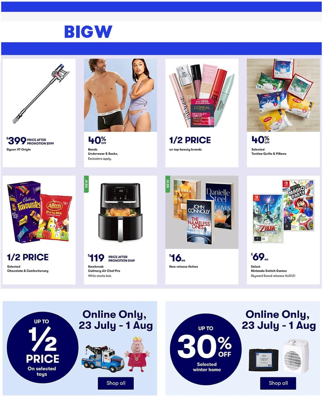 BIG W Catalogue - 29/07-04/08/2021