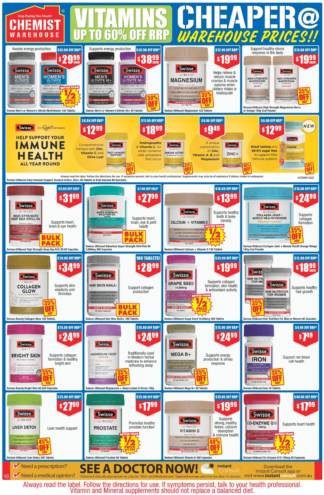 Chemist Warehouse Catalogue - 22/04-09/05/2021 (Page 10)