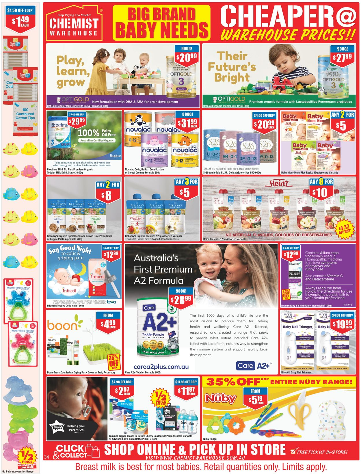 Chemist Warehouse Catalogue - 24/06-07/07/2021 (Page 34)