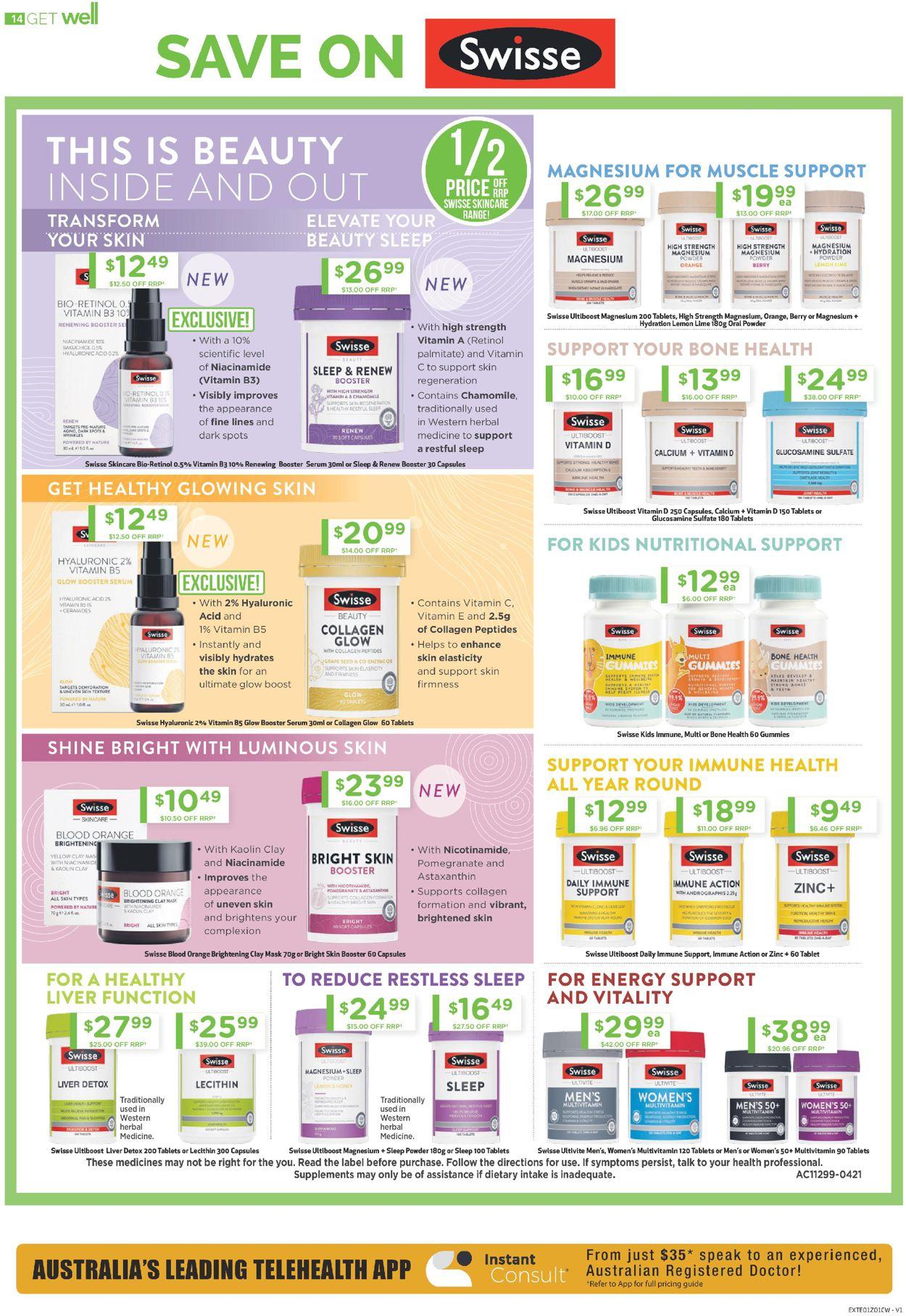 Chemist Warehouse Catalogue - 08/07-21/07/2021 (Page 14)