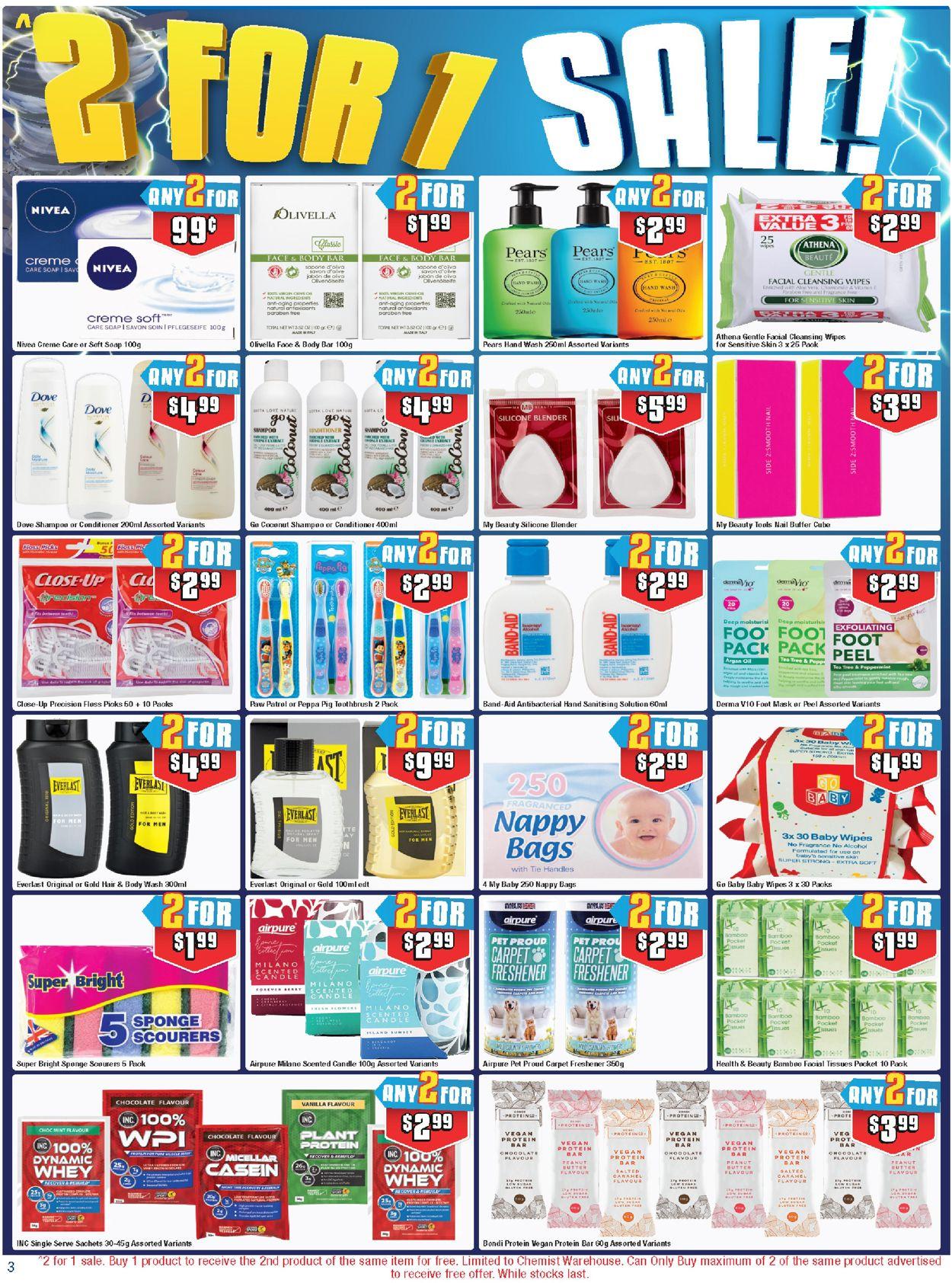 Chemist Warehouse Catalogue - 22/07-04/08/2021 (Page 3)