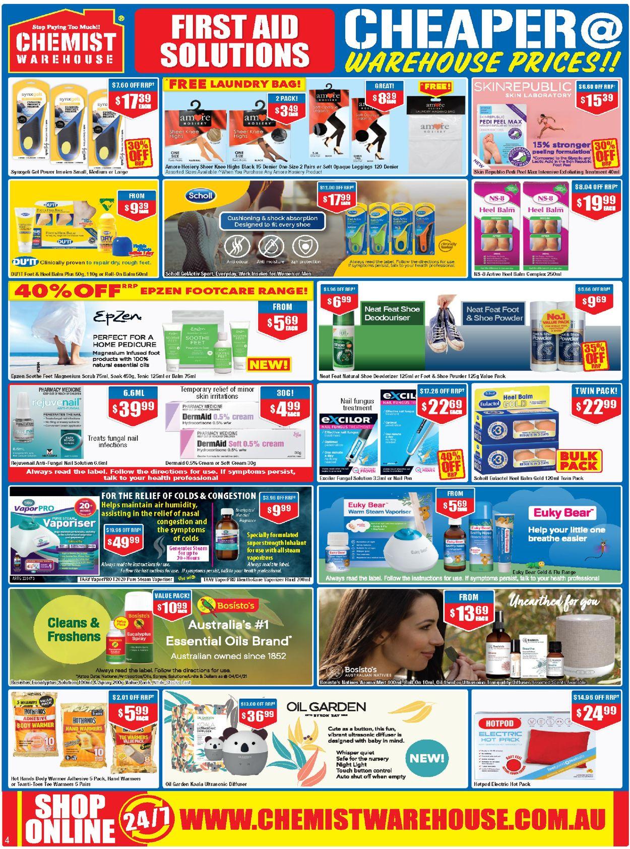 Chemist Warehouse Catalogue - 22/07-04/08/2021 (Page 4)