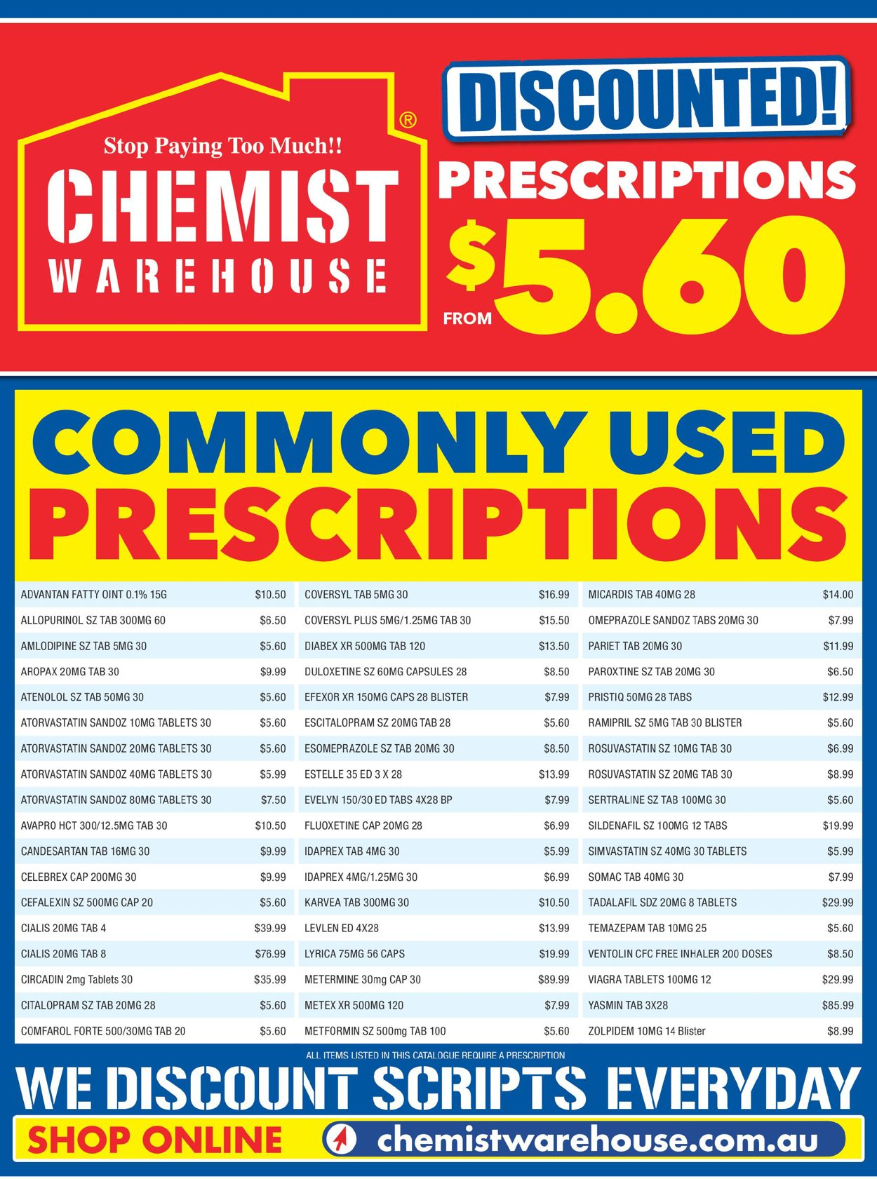 Chemist Warehouse Catalogue - 18/03-31/12/2021