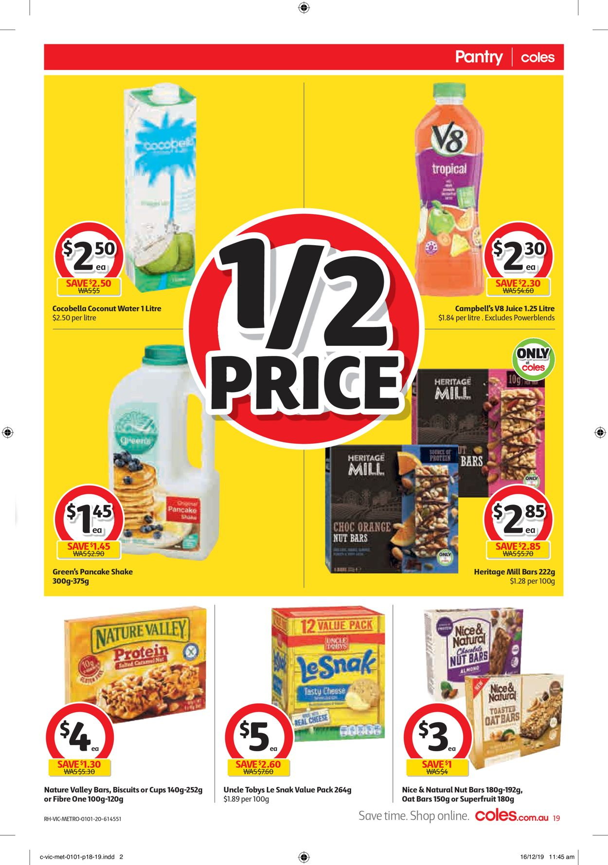 Coles New Year Catalogue 2020 Catalogue - 01/01-07/01/2020 (Page 19)