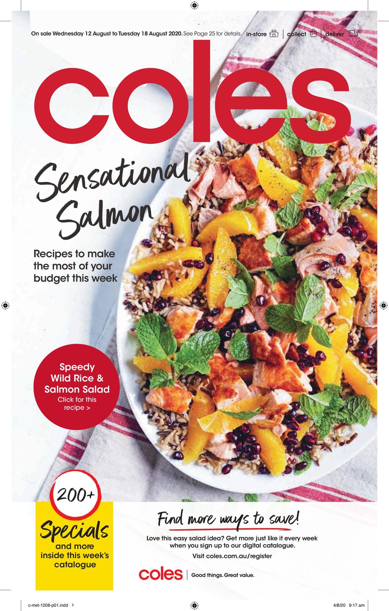 Coles Catalogue - 12/08-18/08/2020