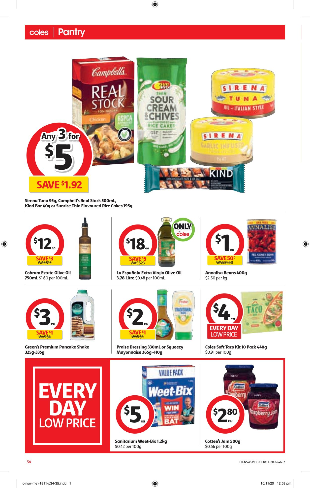 Coles Christmas 2020 Catalogue - 18/11-24/11/2020 (Page 34)