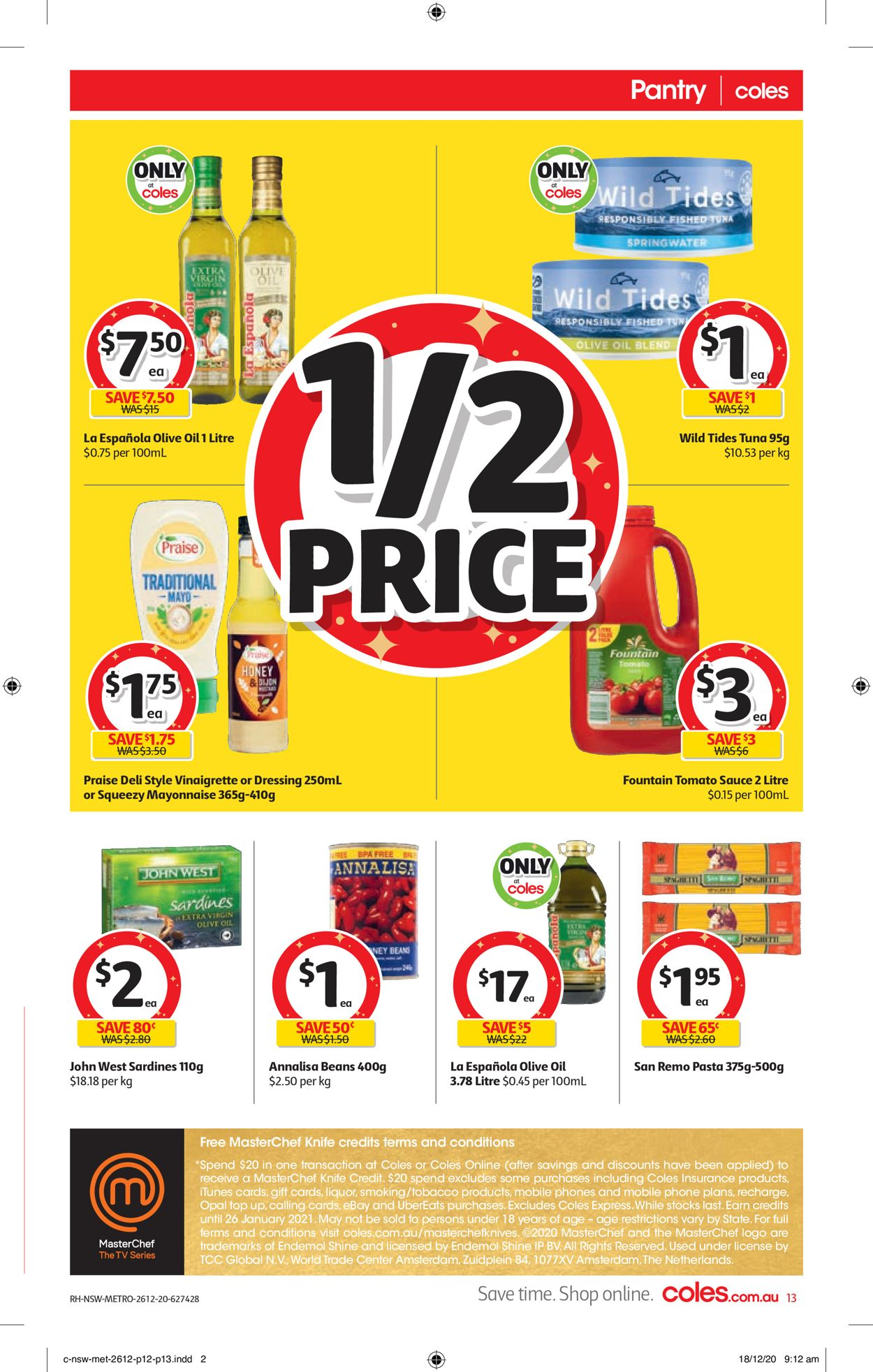 Coles - Boxing Day 2020 Catalogue - 26/12-29/12/2020 (Page 13)
