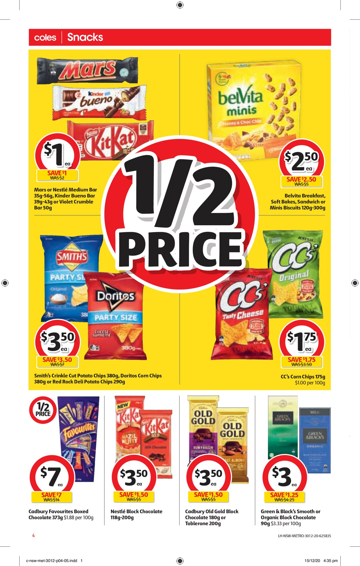 Coles - New Year 2021 Catalogue - 30/12-05/01/2021 (Page 4)