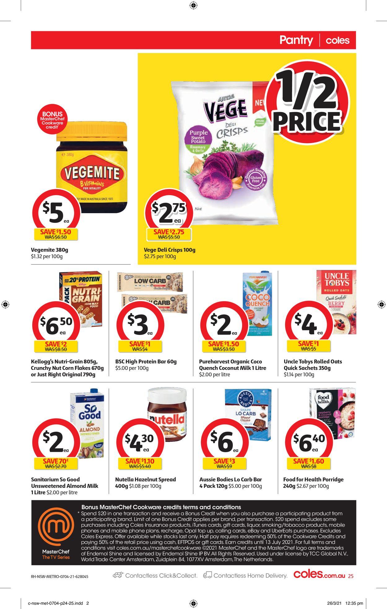 Coles Catalogue - 07/04-13/04/2021 (Page 25)