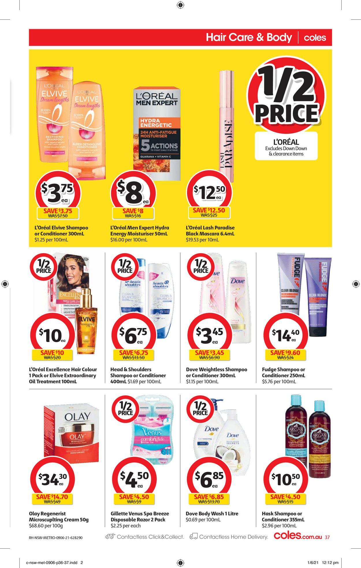 Coles Catalogue - 09/06-15/06/2021 (Page 37)