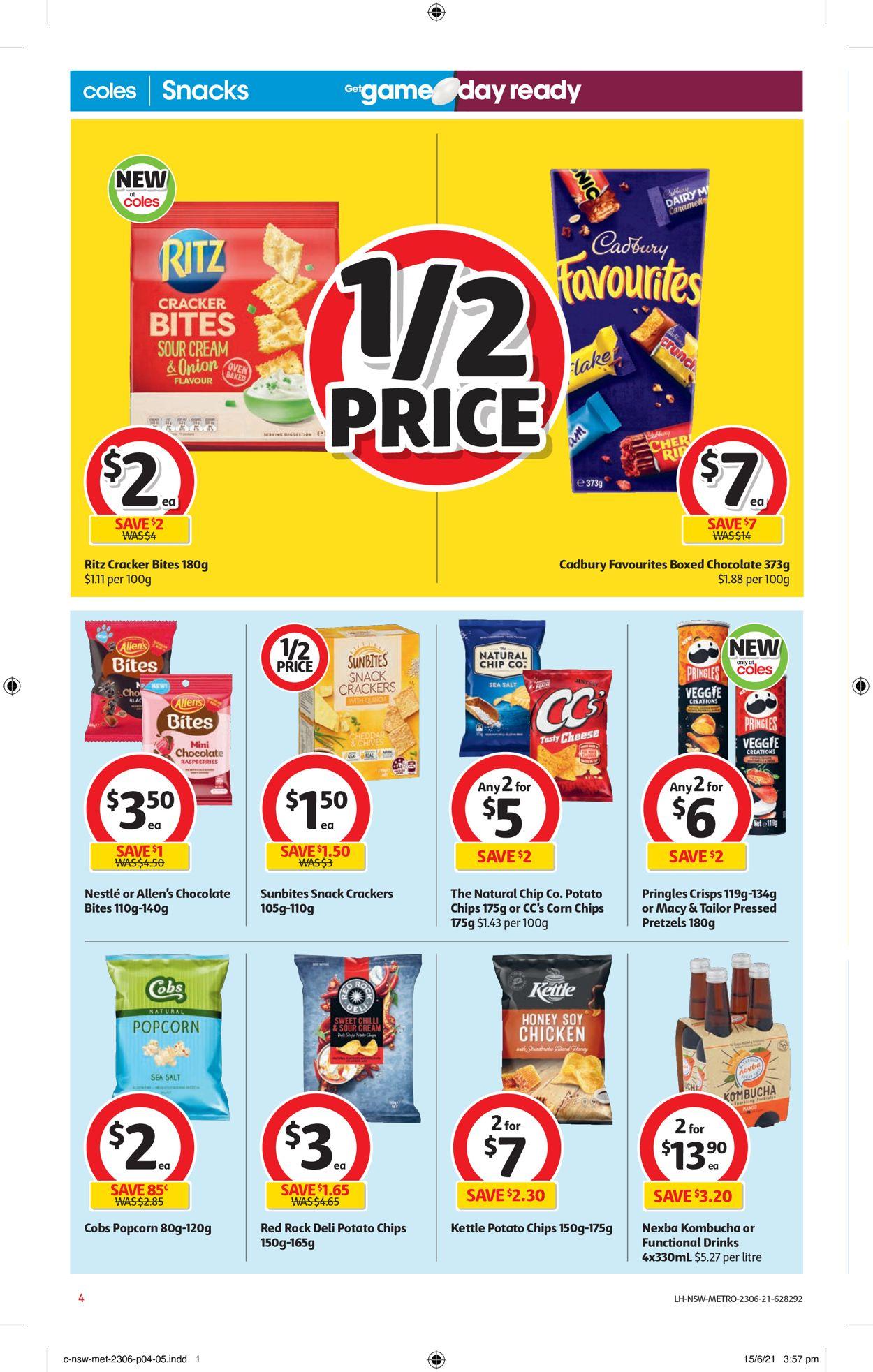 Coles Catalogue - 23/06-29/06/2021 (Page 4)