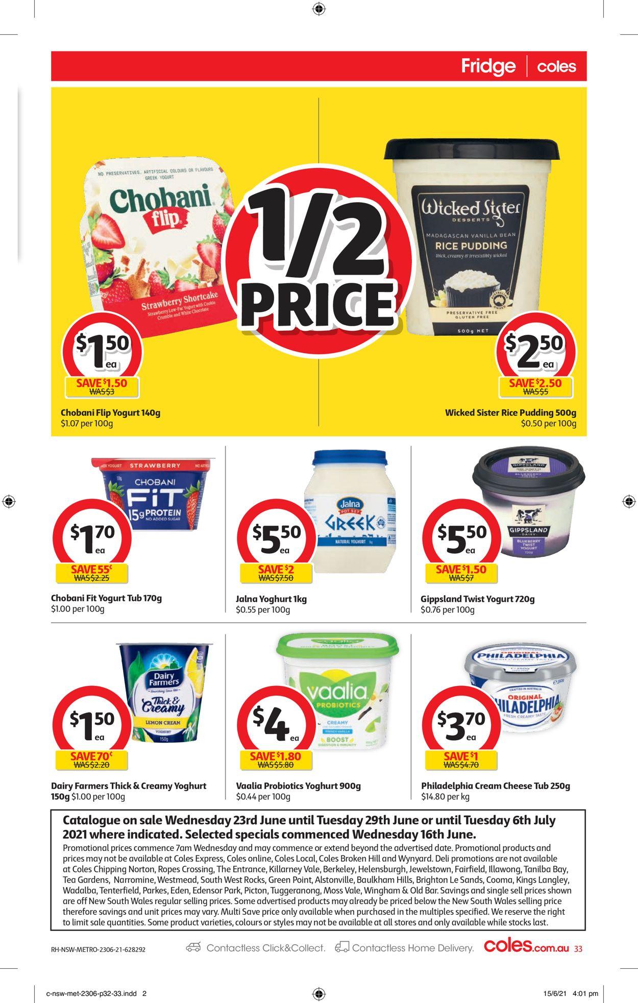 Coles Catalogue - 23/06-29/06/2021 (Page 33)