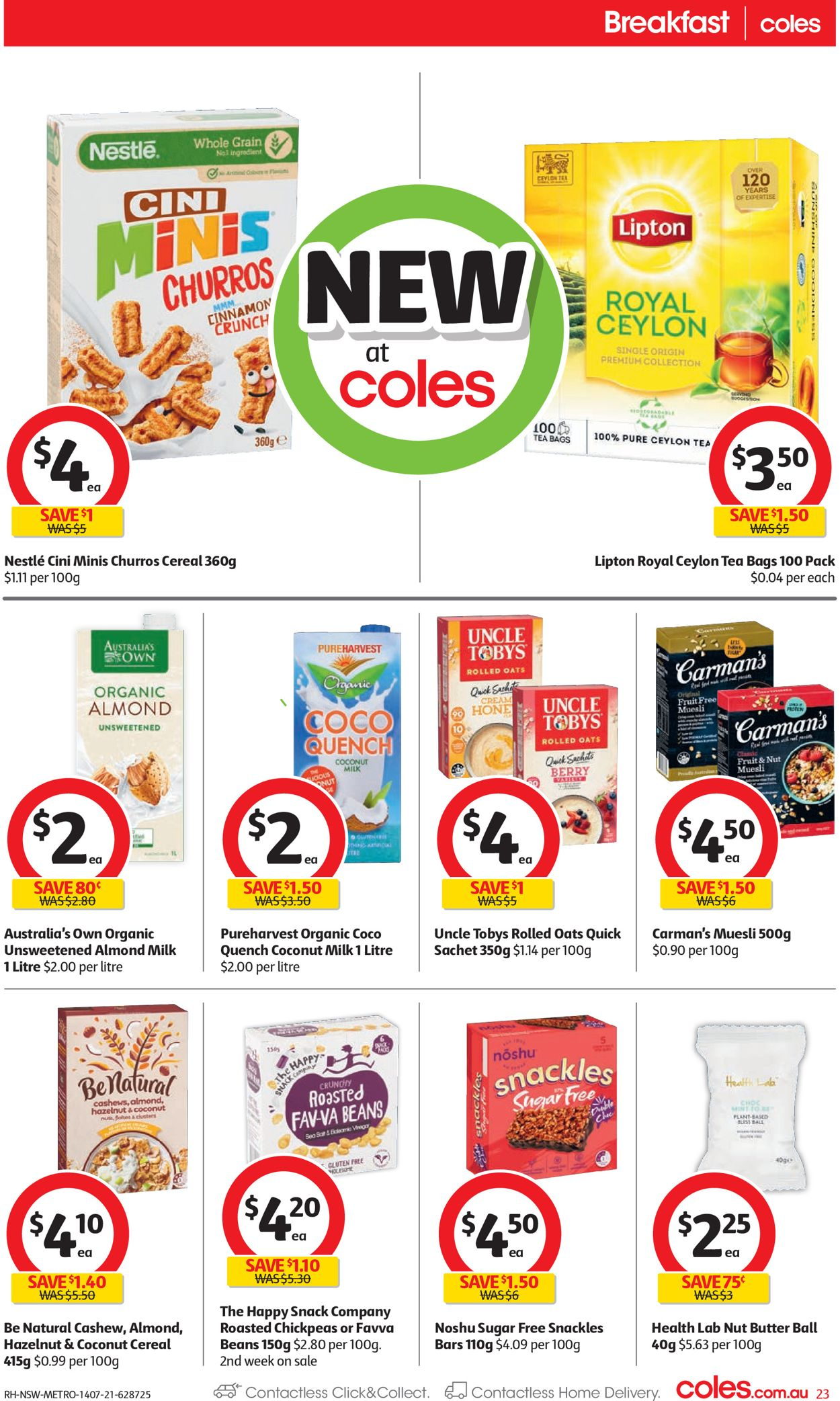 Coles Catalogue - 14/07-20/07/2021 (Page 23)