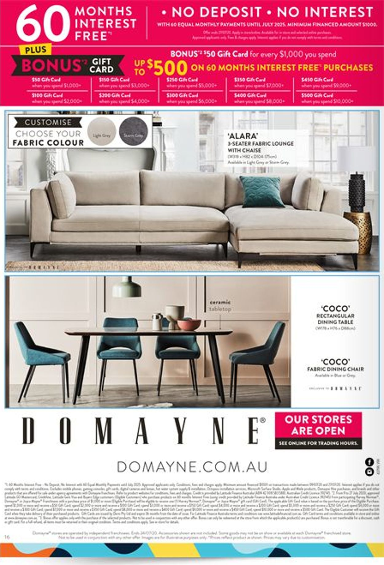 Domayne Catalogue - 10/07-24/07/2020 (Page 16)