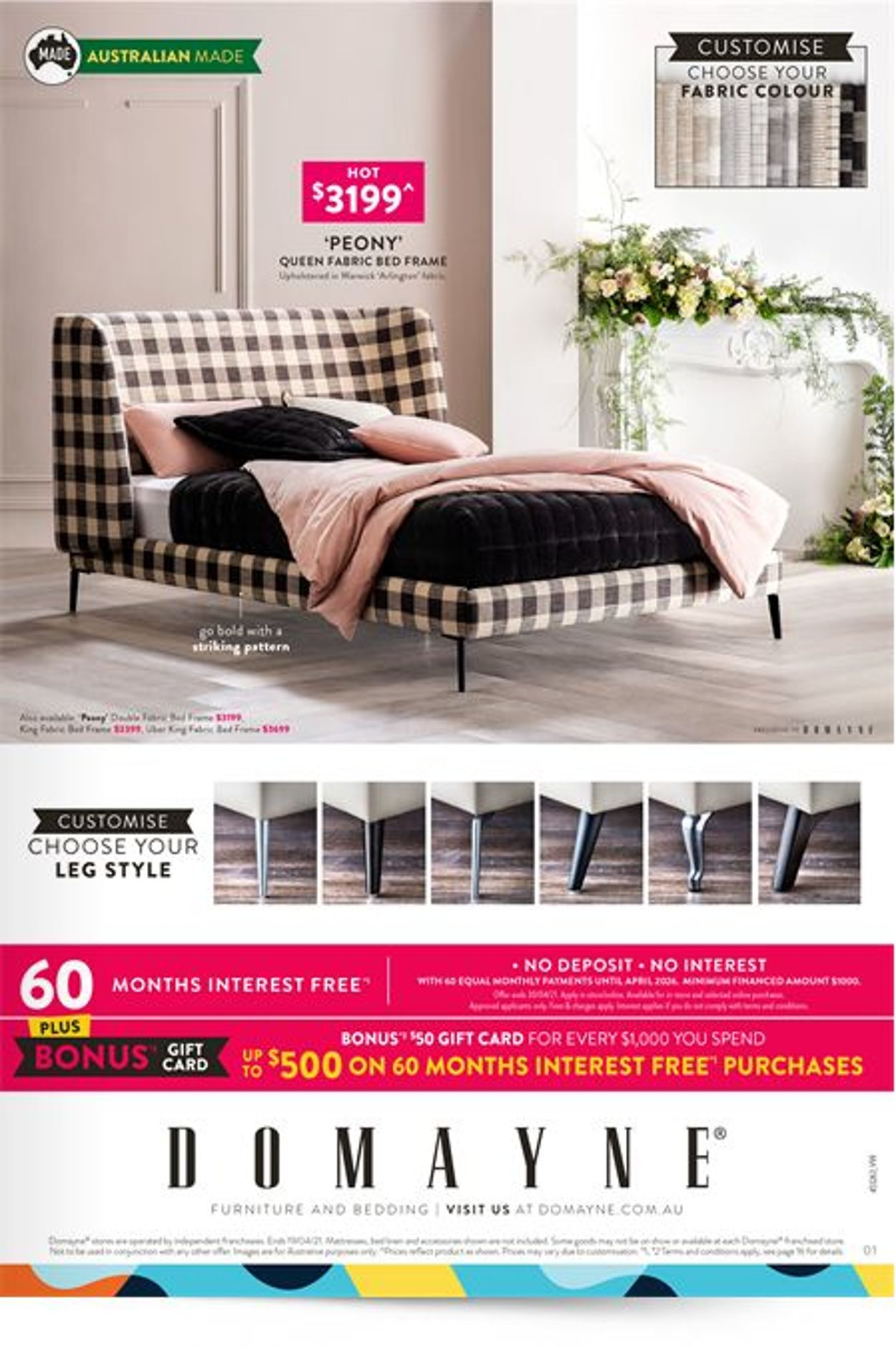Domayne Catalogue - 12/04-19/04/2021