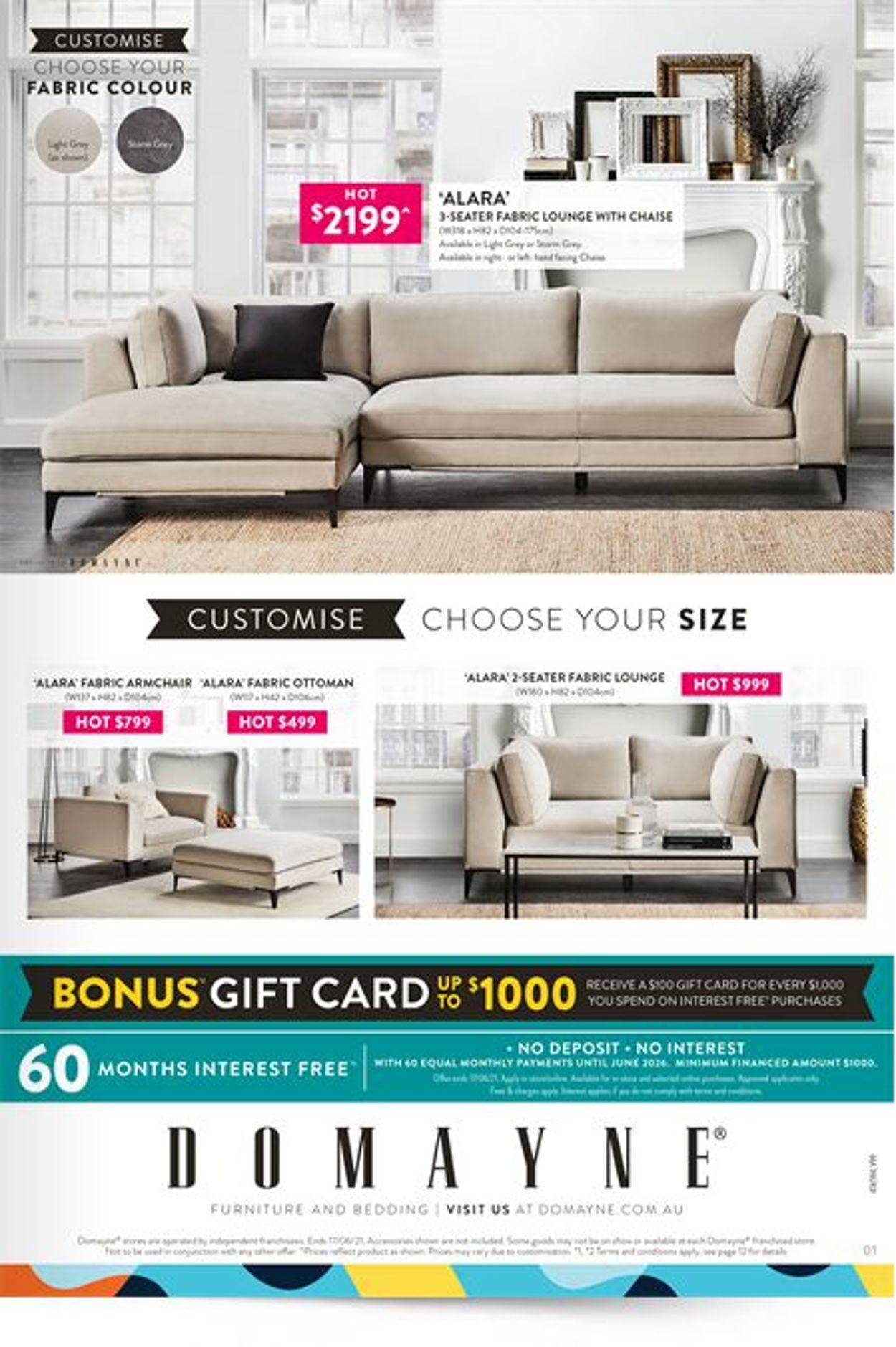 Domayne Catalogue - 11/06-17/06/2021