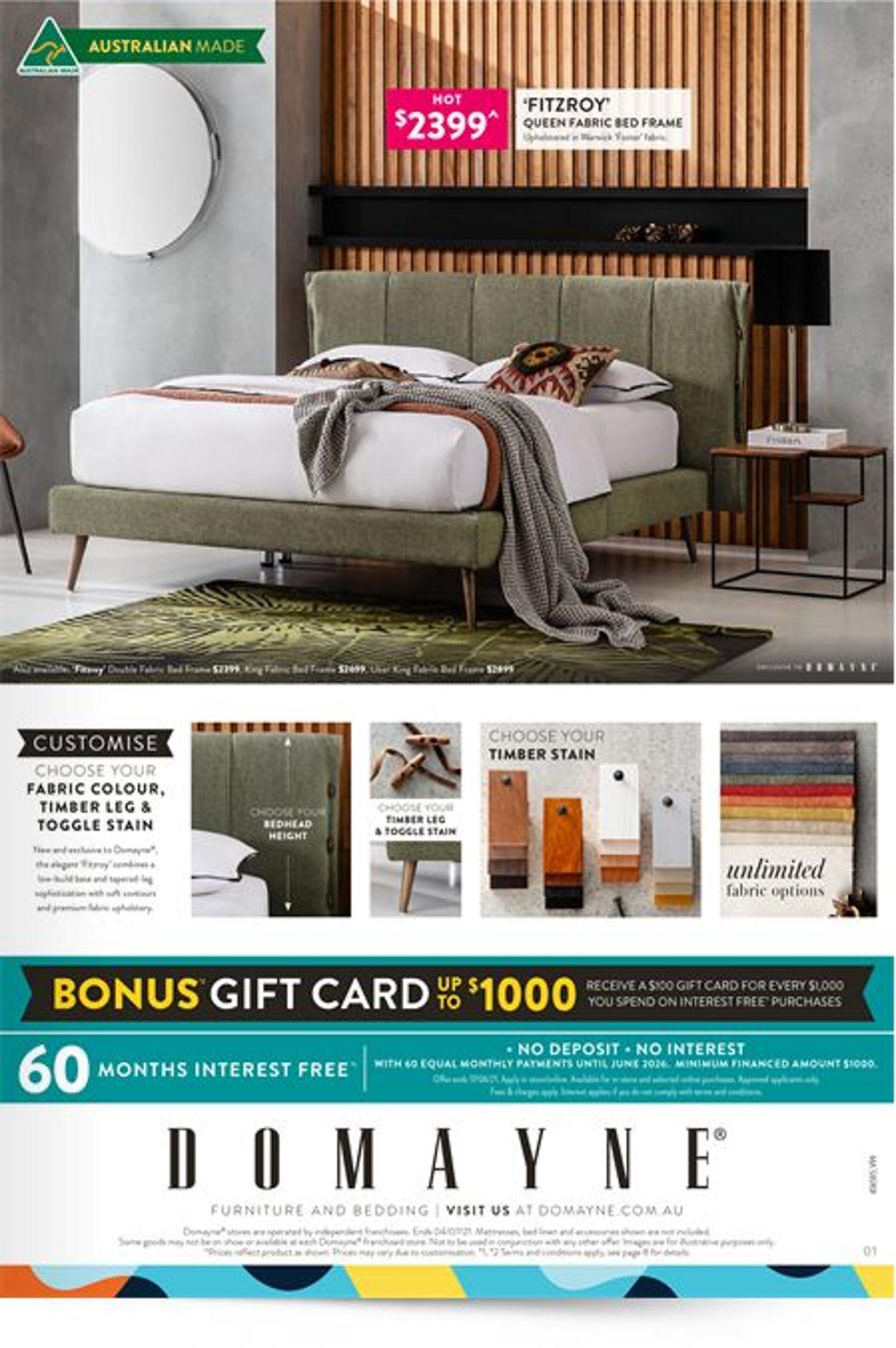 Domayne Catalogue - 11/06-04/07/2021