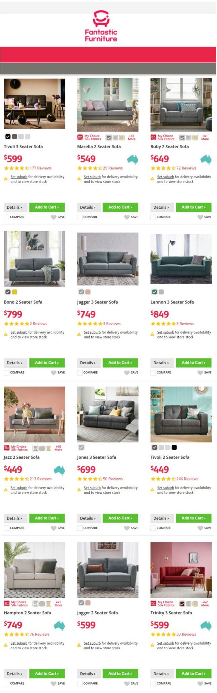Fantastic Furniture Catalogue - 16/09-22/09/2021