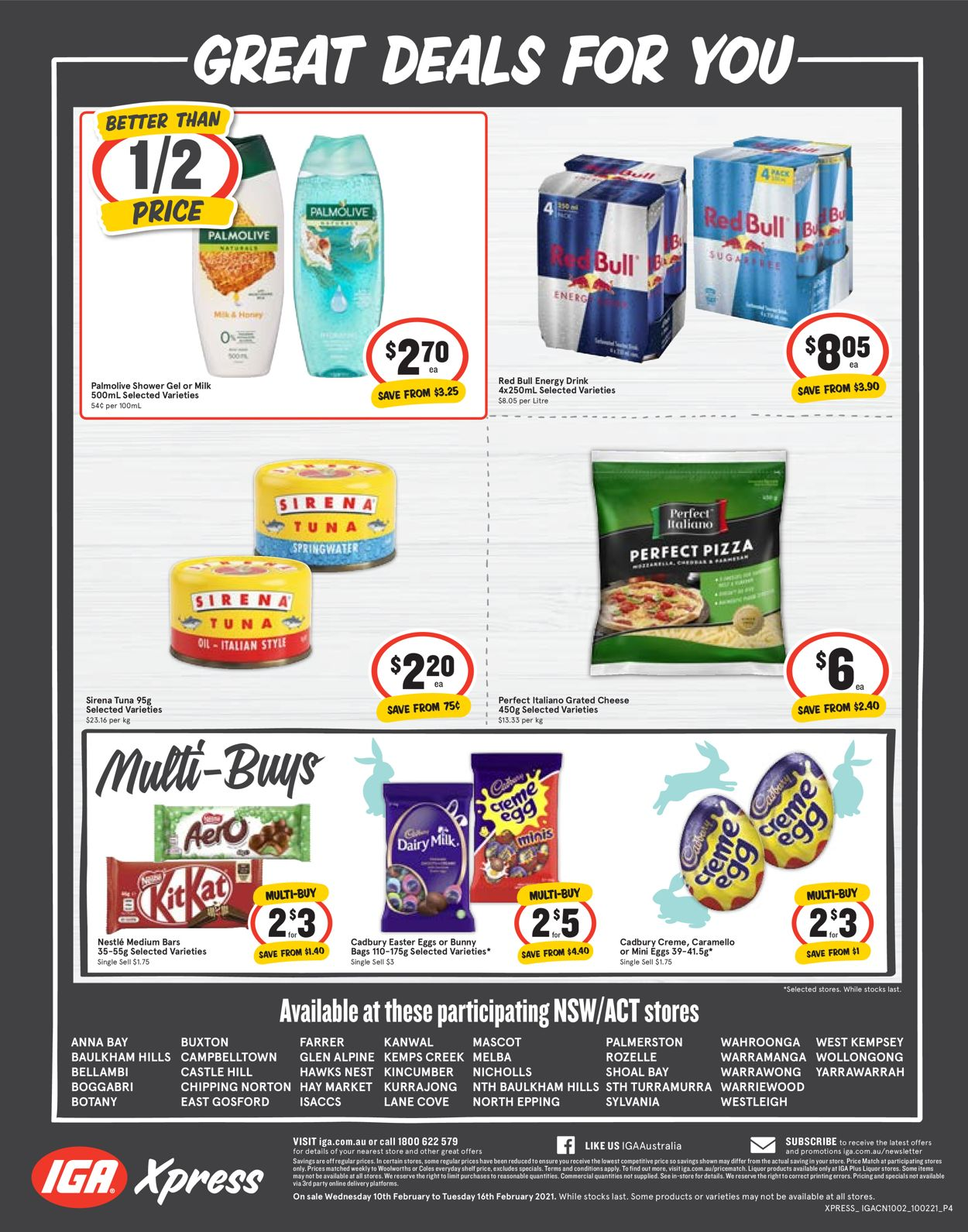IGA Xpress Catalogue - 10/02-16/02/2021 (Page 4)