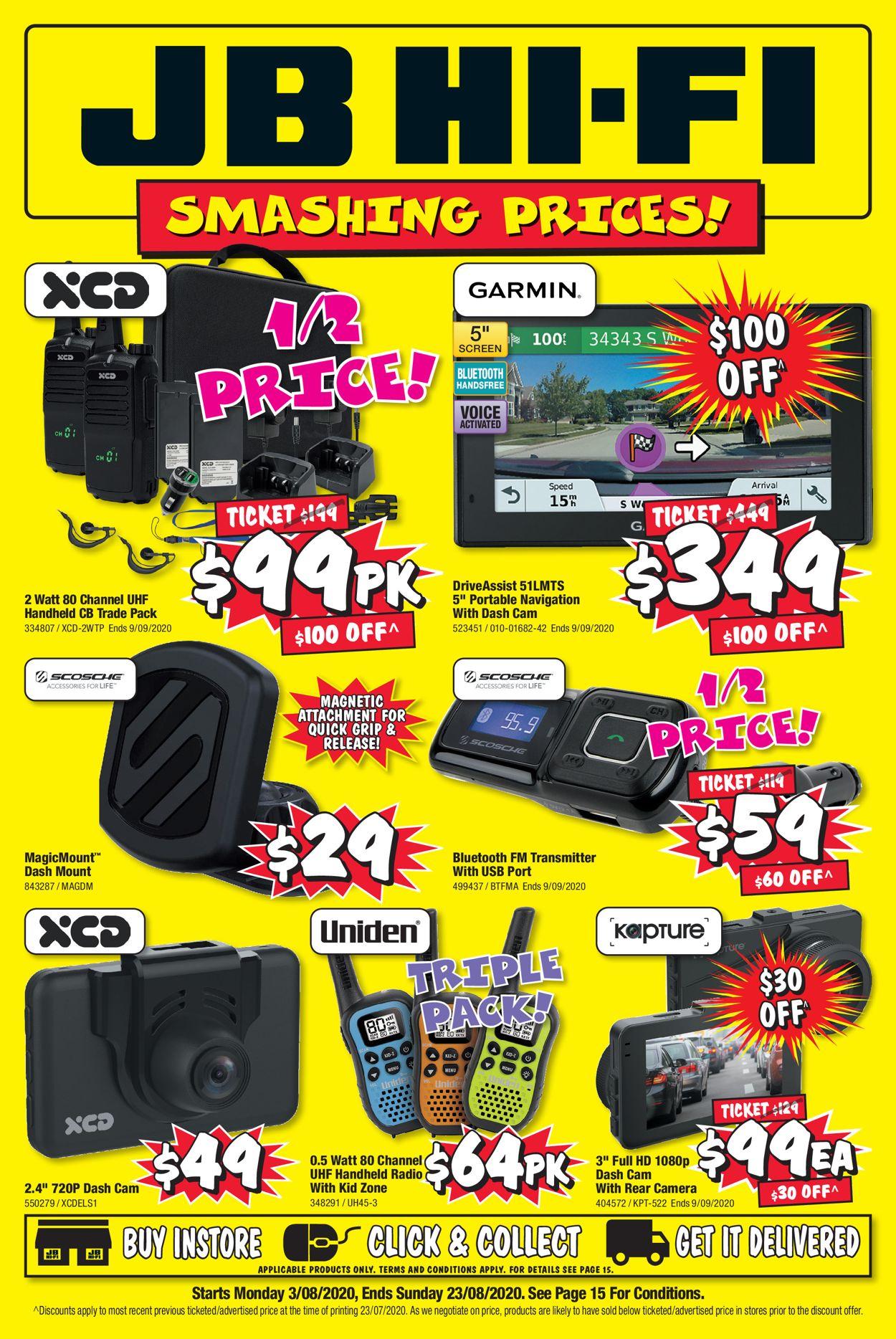 JB Hi-Fi Catalogue - 03/08-23/08/2020