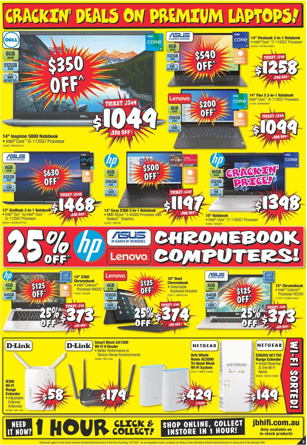 JB Hi-Fi Catalogue - 15/07-21/07/2021 (Page 3)