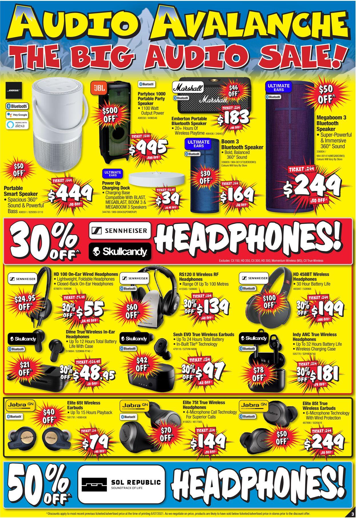 JB Hi-Fi Catalogue - 22/07-28/07/2021 (Page 3)