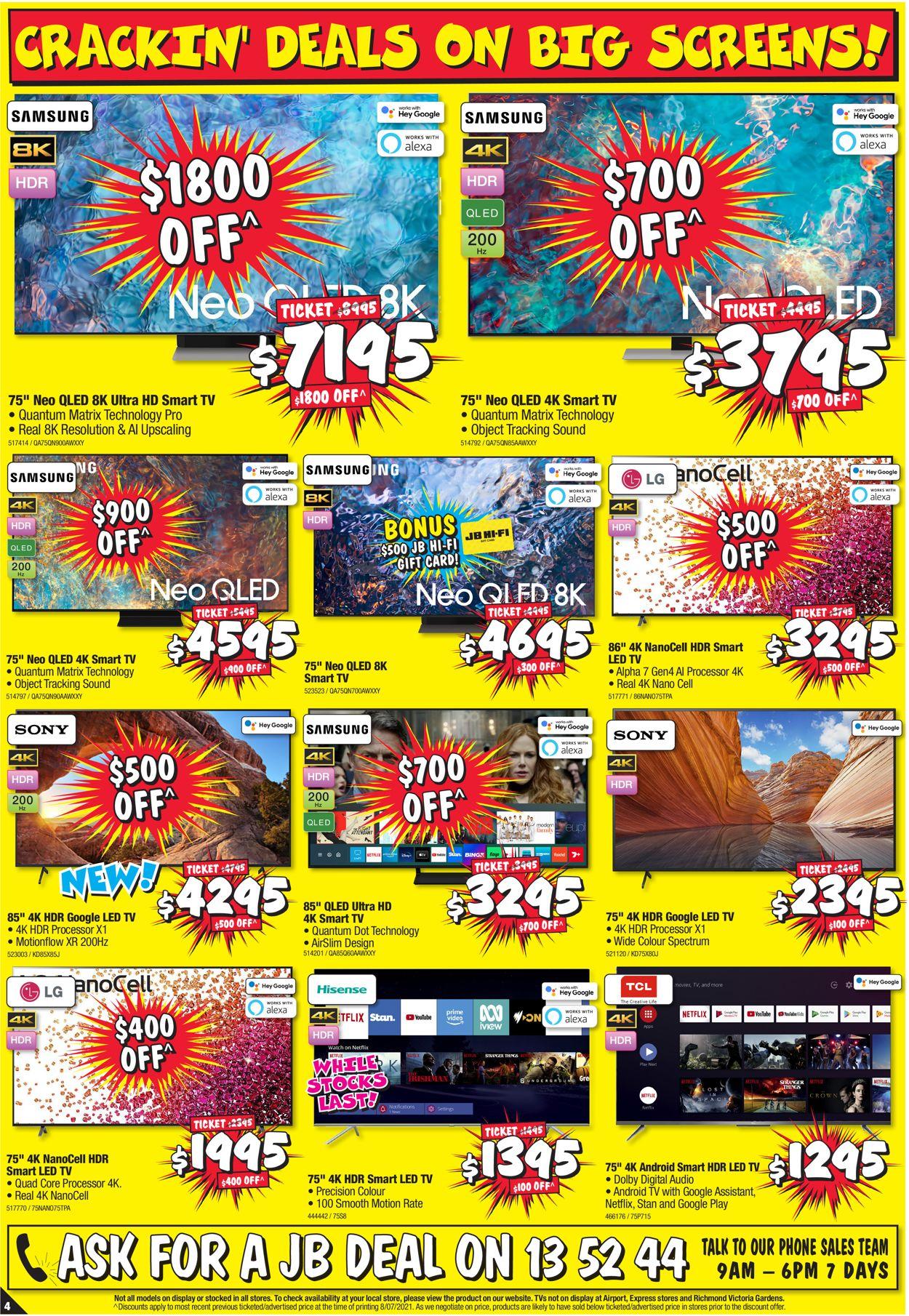 JB Hi-Fi Catalogue - 22/07-28/07/2021 (Page 4)
