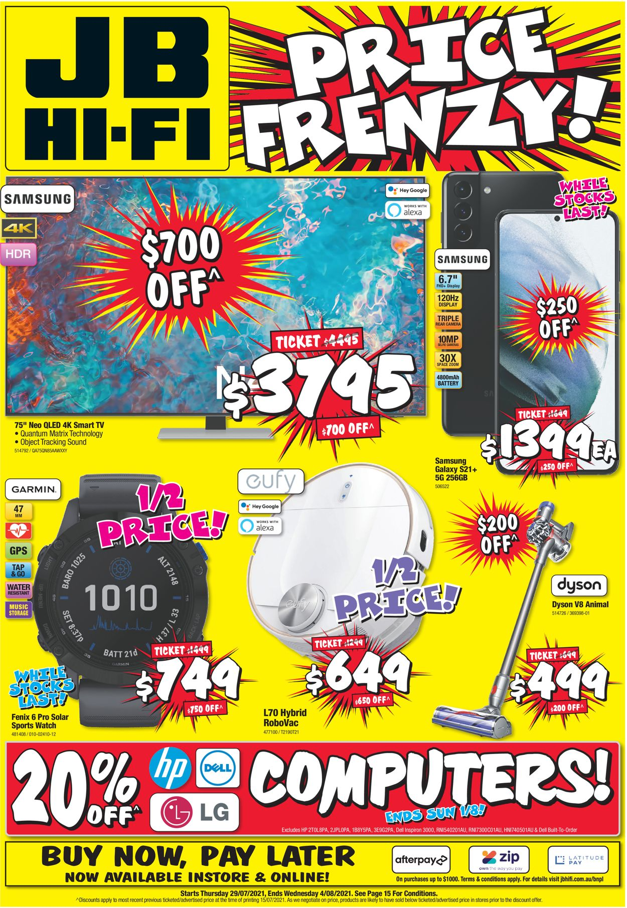 JB Hi-Fi Catalogue - 29/07-04/08/2021
