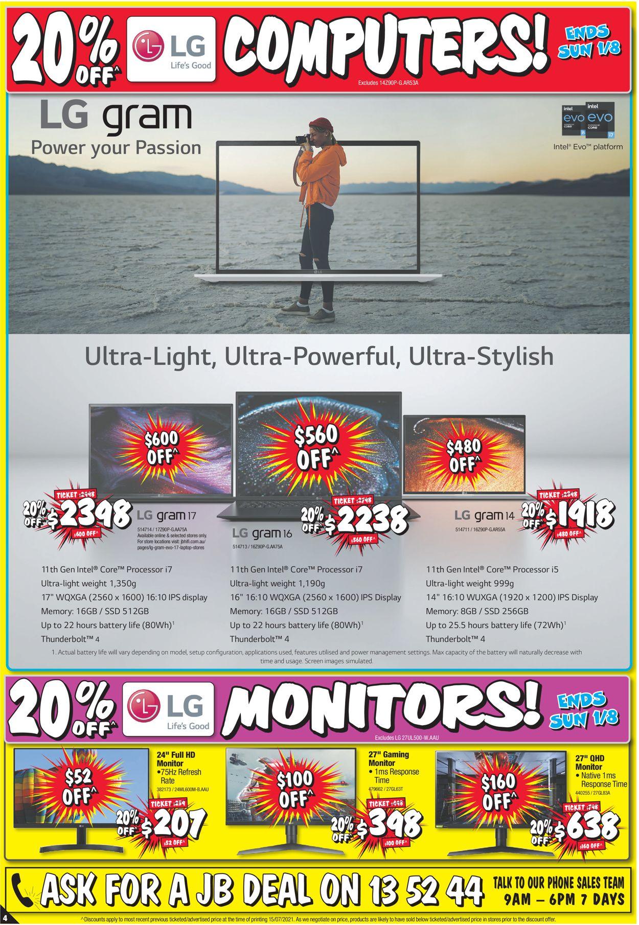 JB Hi-Fi Catalogue - 29/07-04/08/2021 (Page 4)