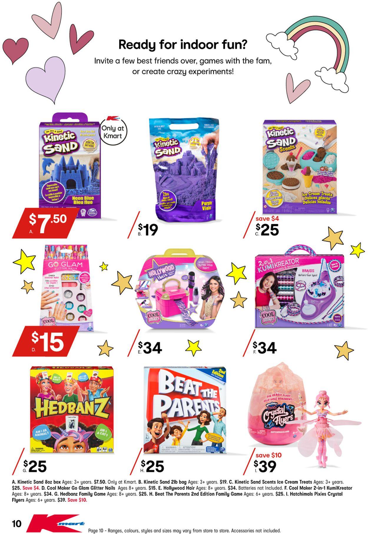Kmart Catalogue - 01/04-21/04/2021 (Page 10)