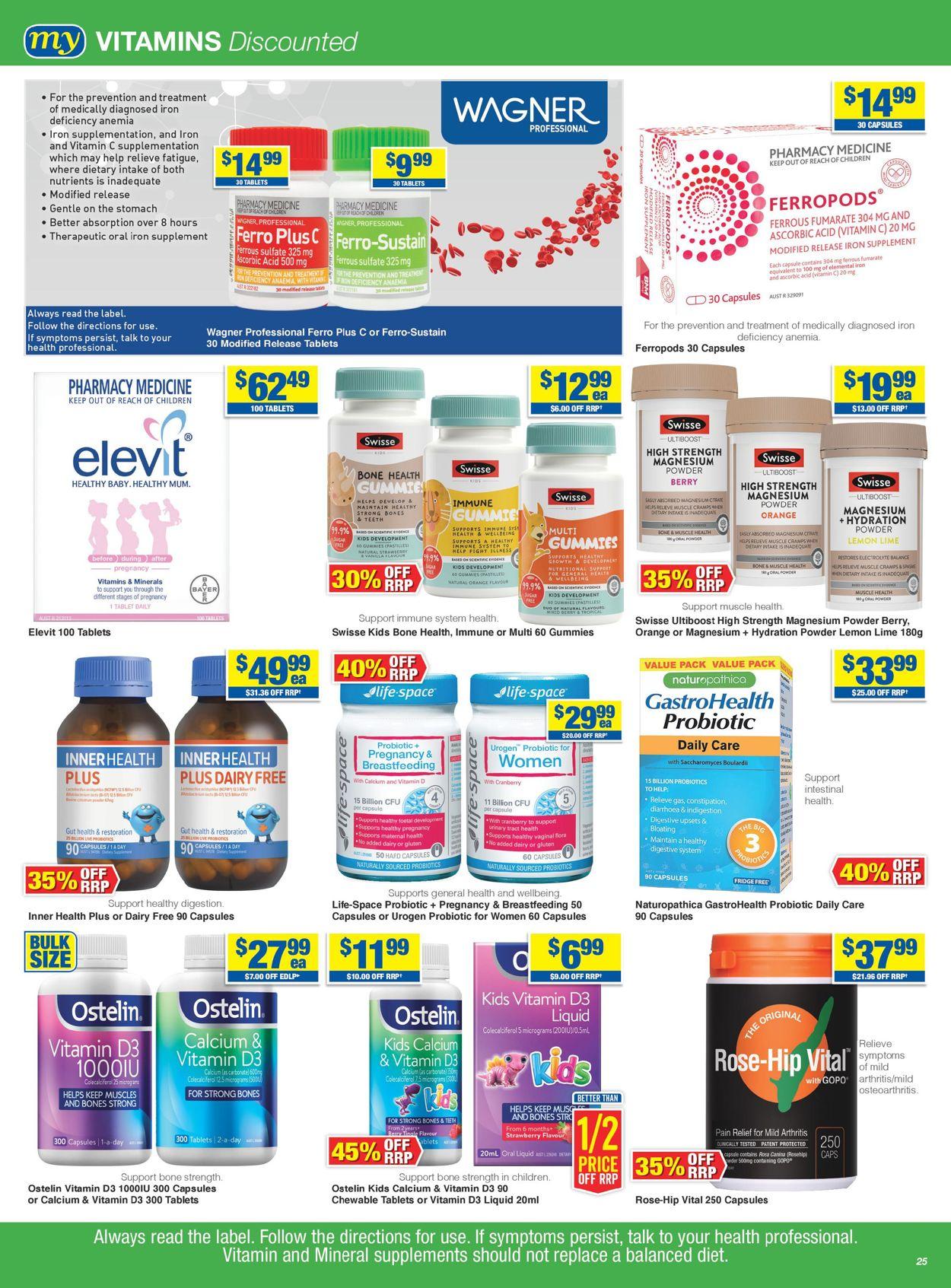 My Chemist Catalogue - 27/05-16/06/2021 (Page 25)