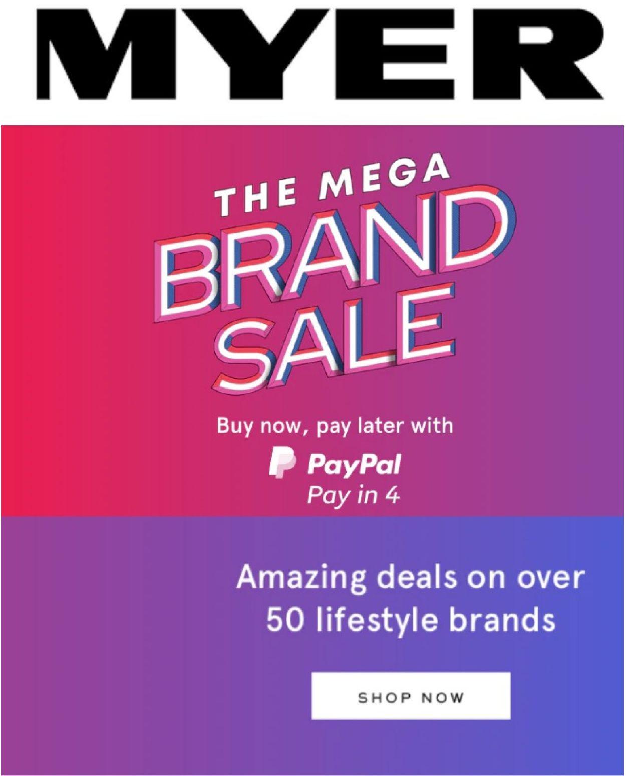 Myer Catalogue - 23/09-29/09/2021