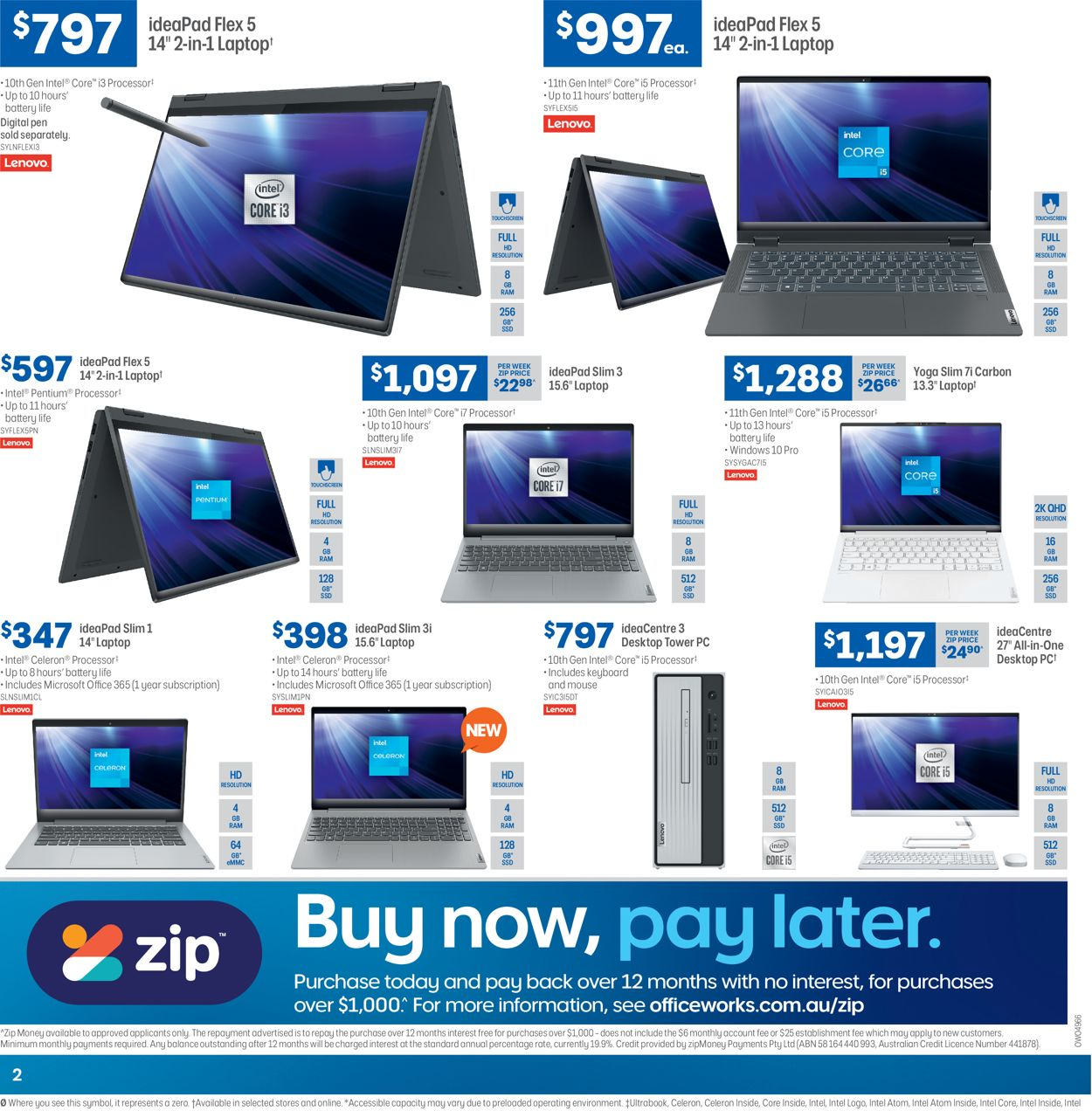 Officeworks Catalogue - 17/06-30/06/2021 (Page 2)