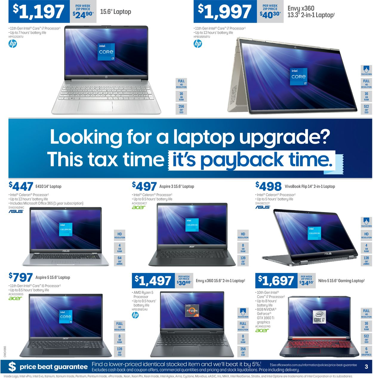 Officeworks Catalogue - 17/06-30/06/2021 (Page 3)