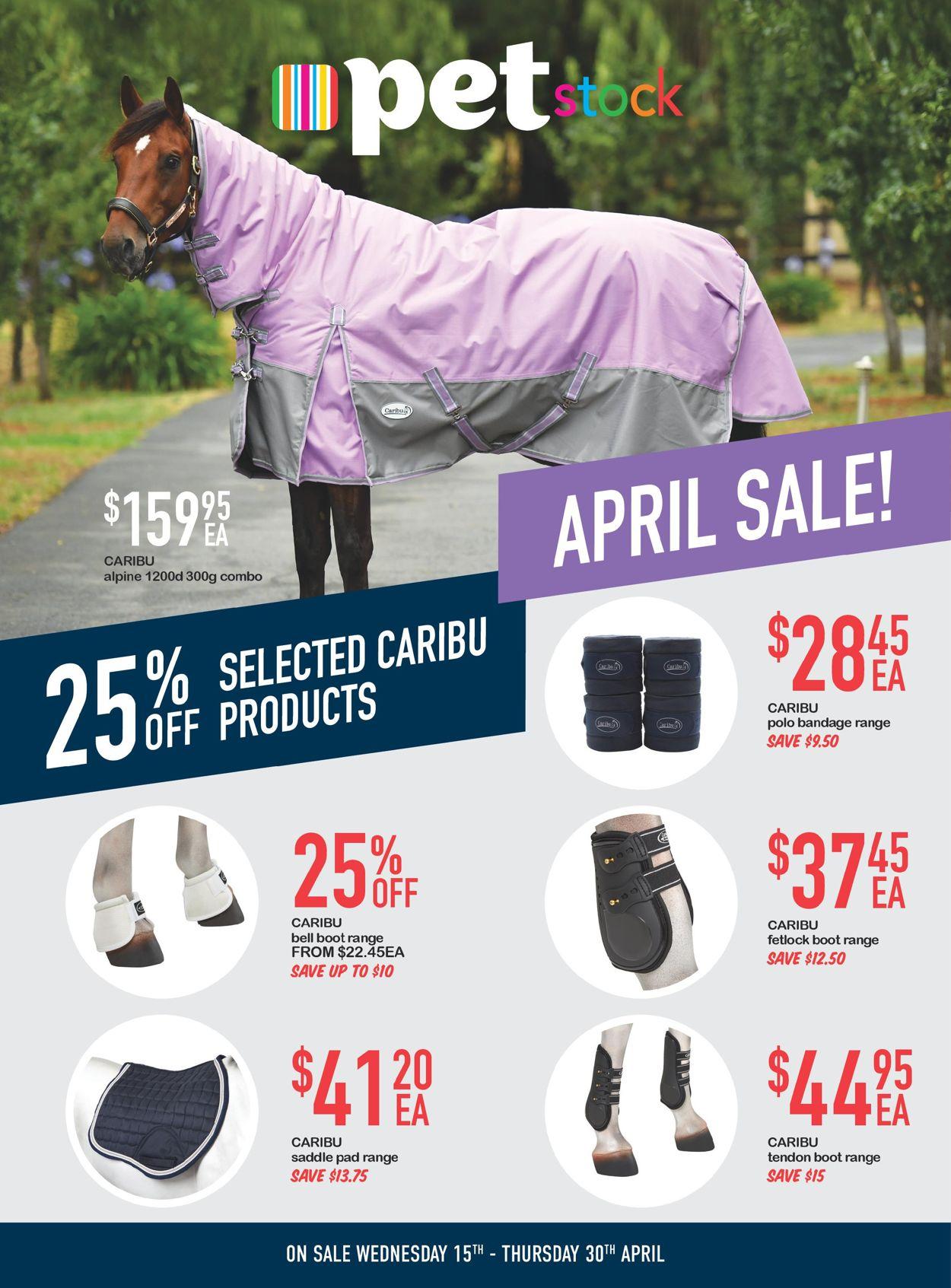 Pet Stock Catalogue - 15/04-30/04/2020