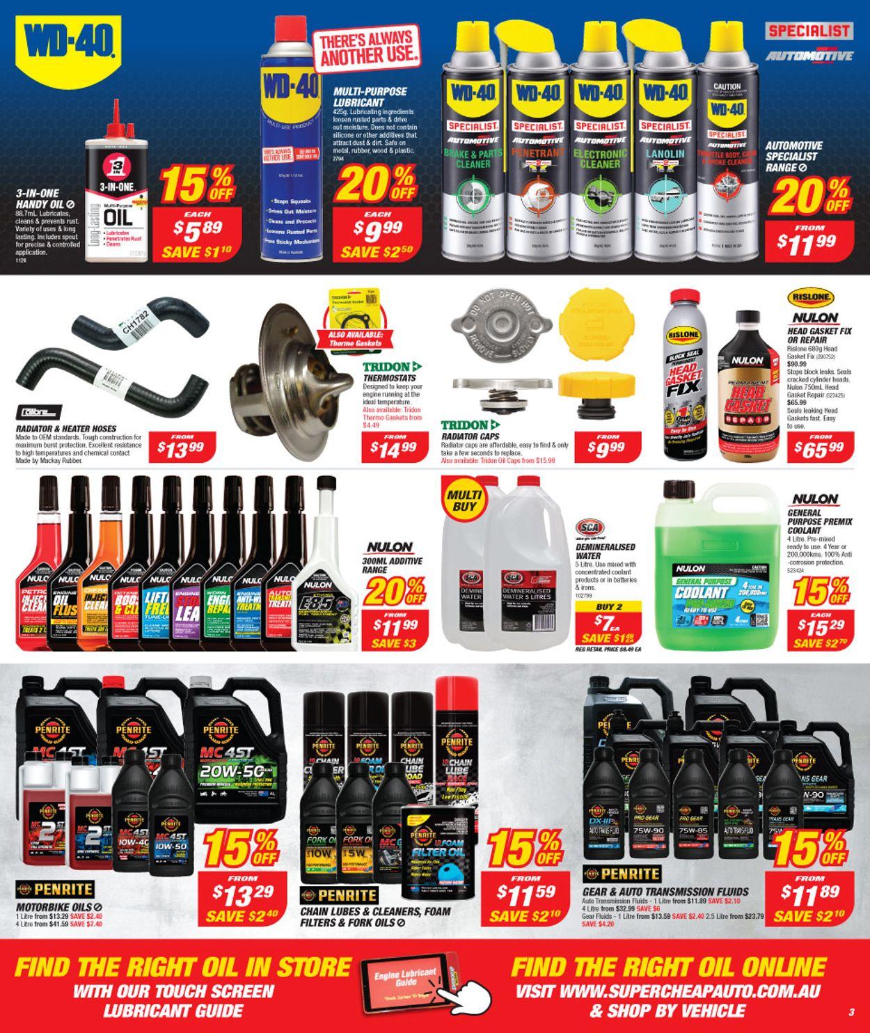 Supercheap Auto Catalogue - 27/12-09/01/2020 (Page 3)