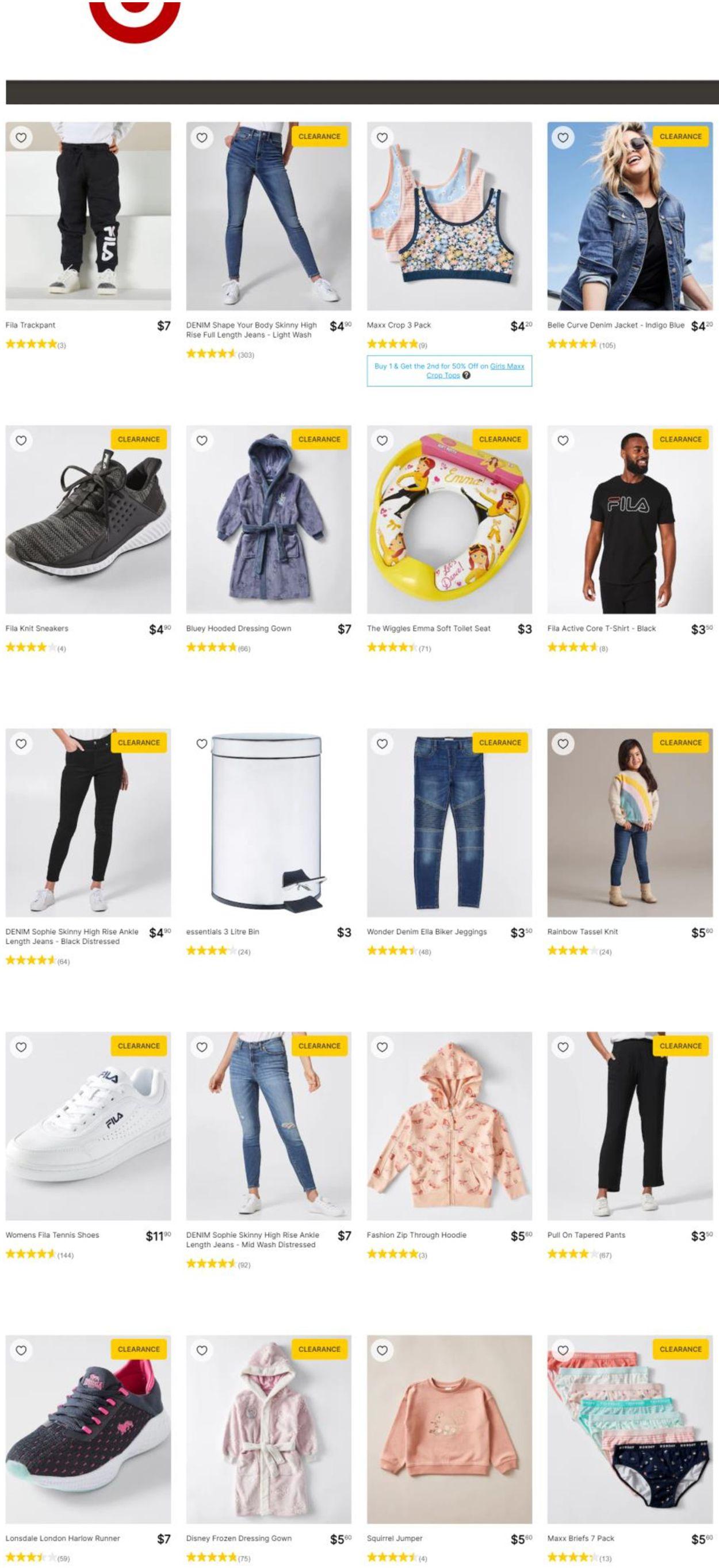 Target Catalogue - 16/09-22/09/2021