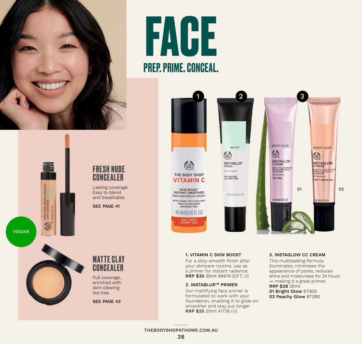 The Body Shop Catalogue - 31/03-30/06/2021 (Page 38)