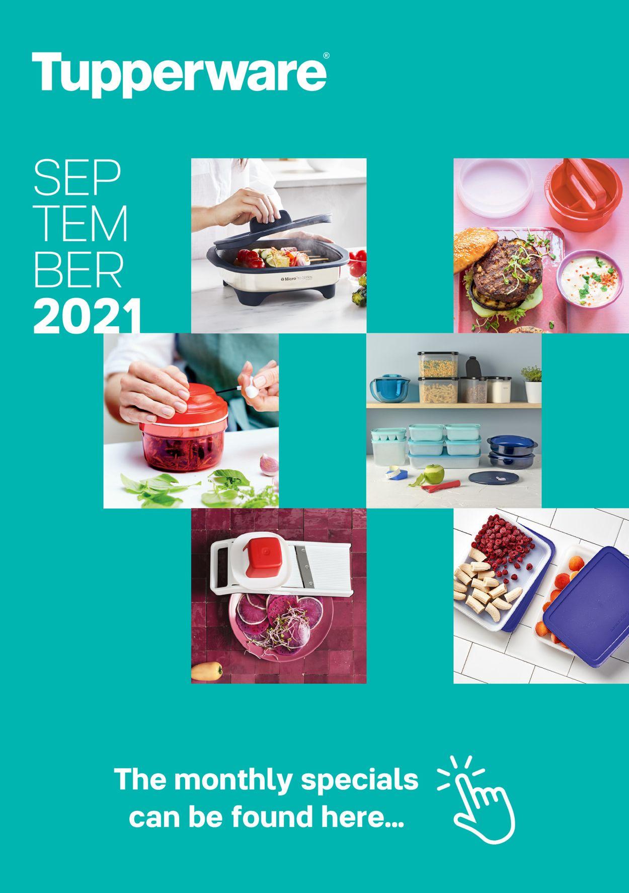 Tupperware Catalogue - 01/09-30/09/2021