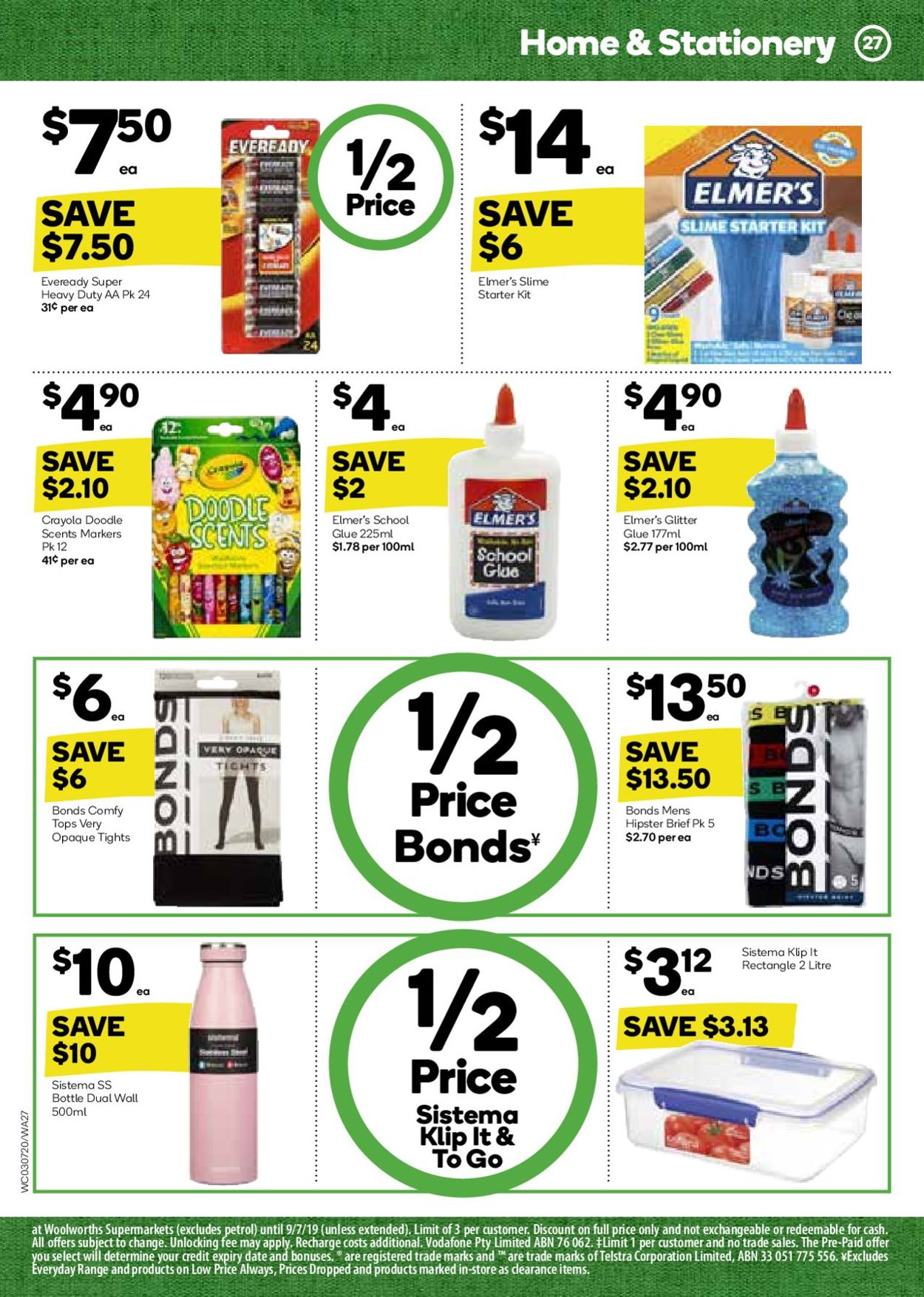 Woolworths Catalogue - 03/07-09/07/2019 (Page 27)