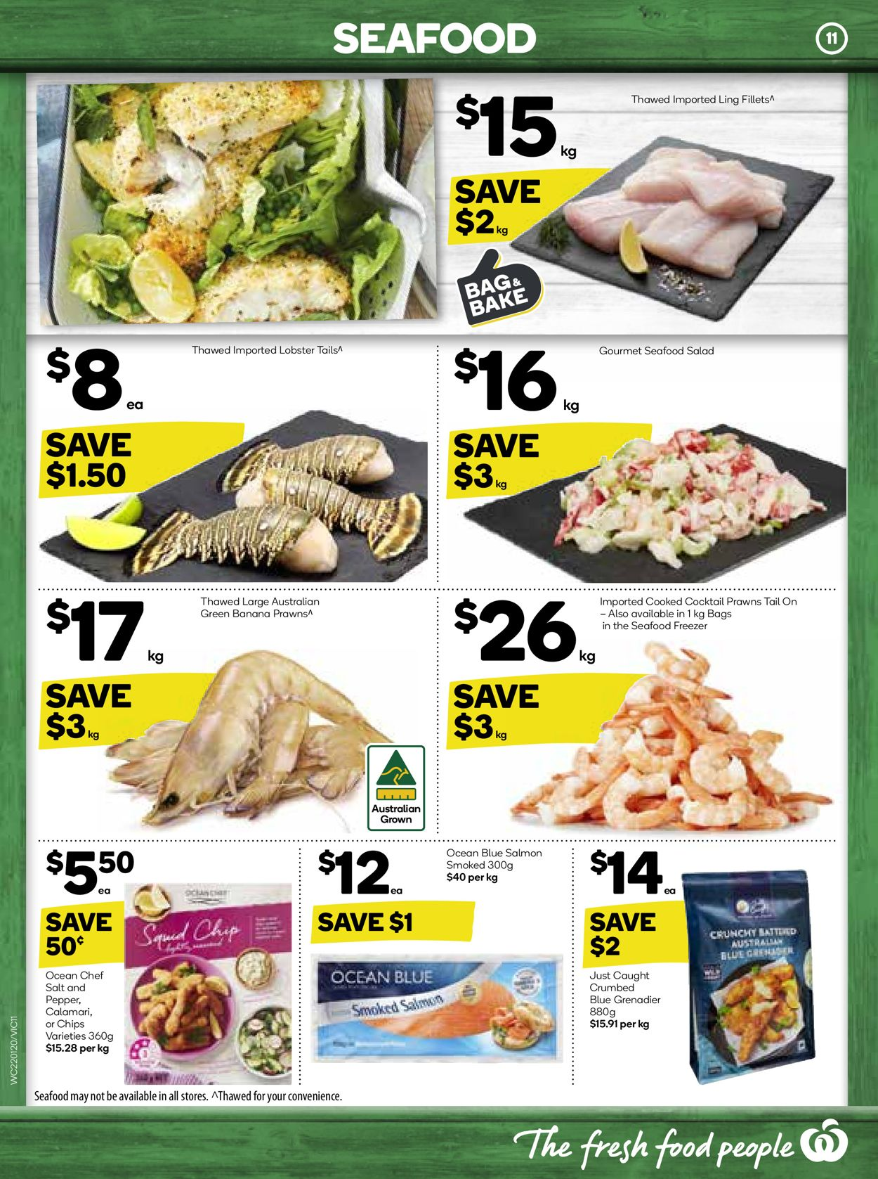 Woolworths Catalogue - 22/01-28/01/2020 (Page 11)