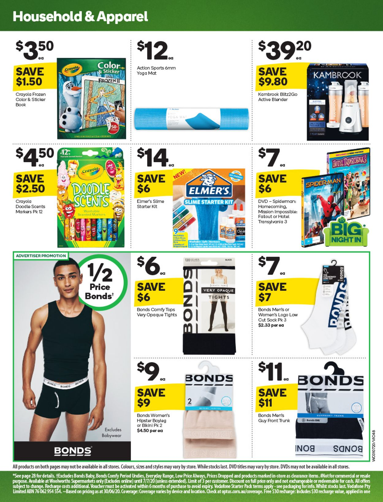 Woolworths Catalogue - 01/07-07/07/2020 (Page 49)