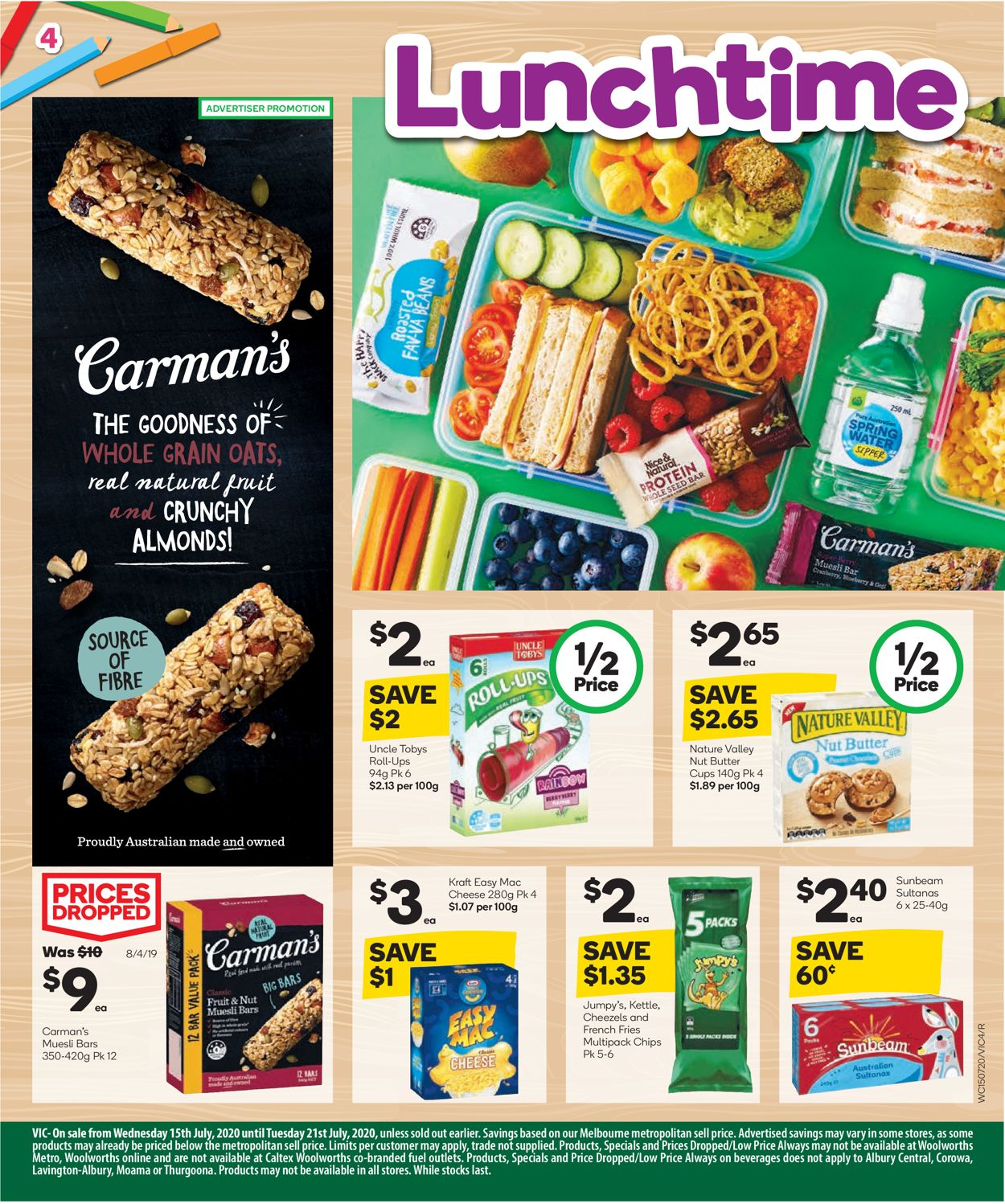 Woolworths Catalogue - 15/07-21/07/2020 (Page 5)