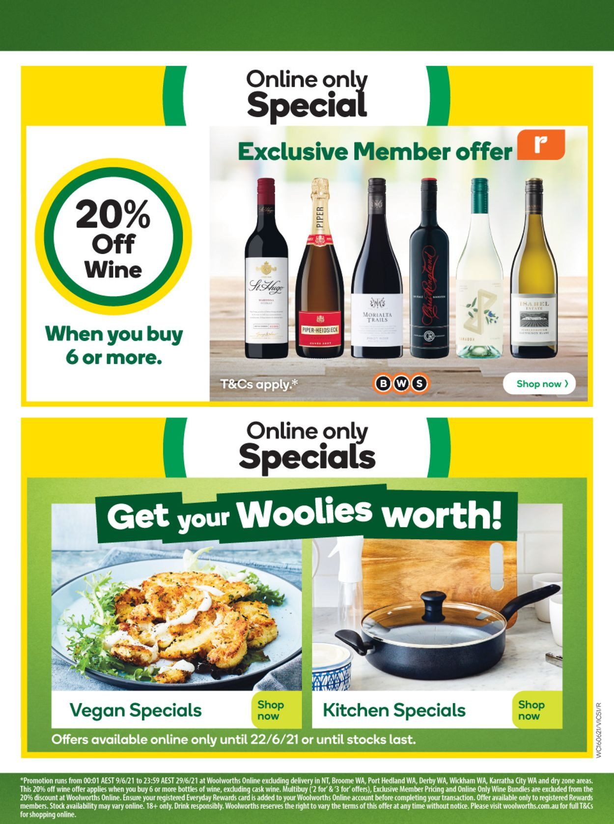 Woolworths Catalogue - 16/06-22/06/2021 (Page 51)